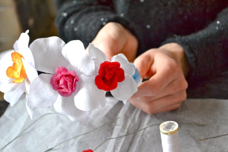 Diy Couronne De Fleurs Marie And Mood