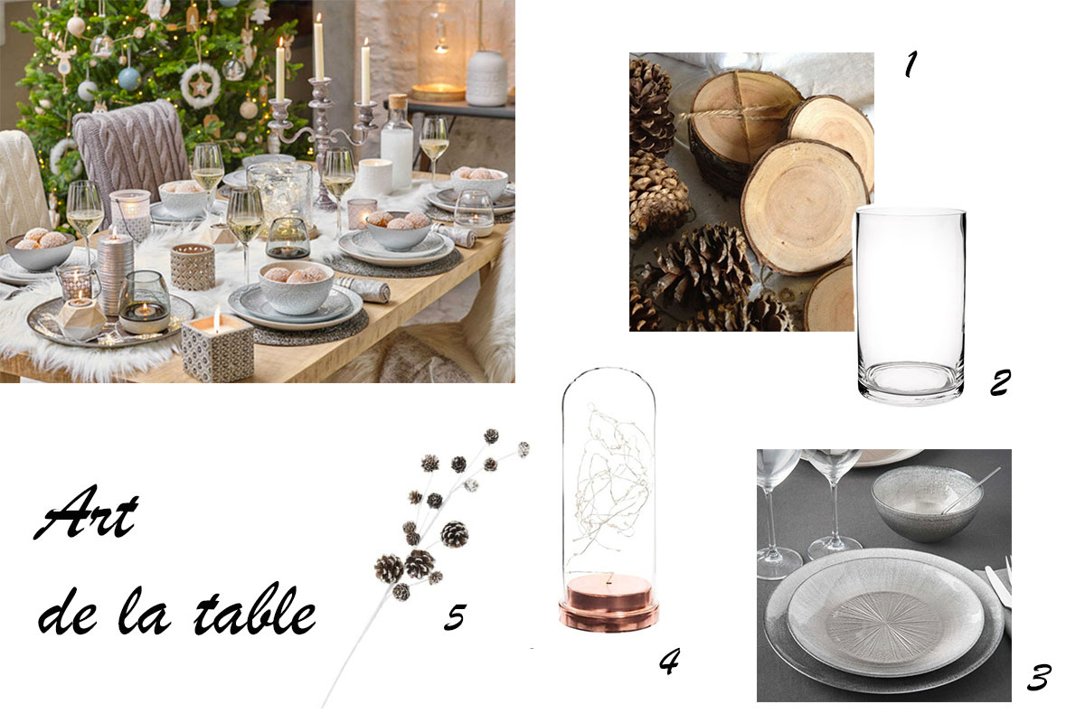 Inspiration d coration de no l marie and mood for Presentation de table de noel