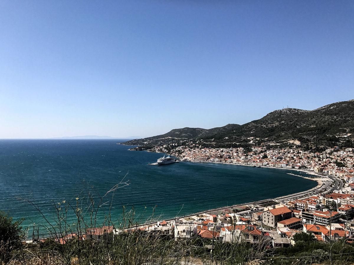 Vue panoramique Samos