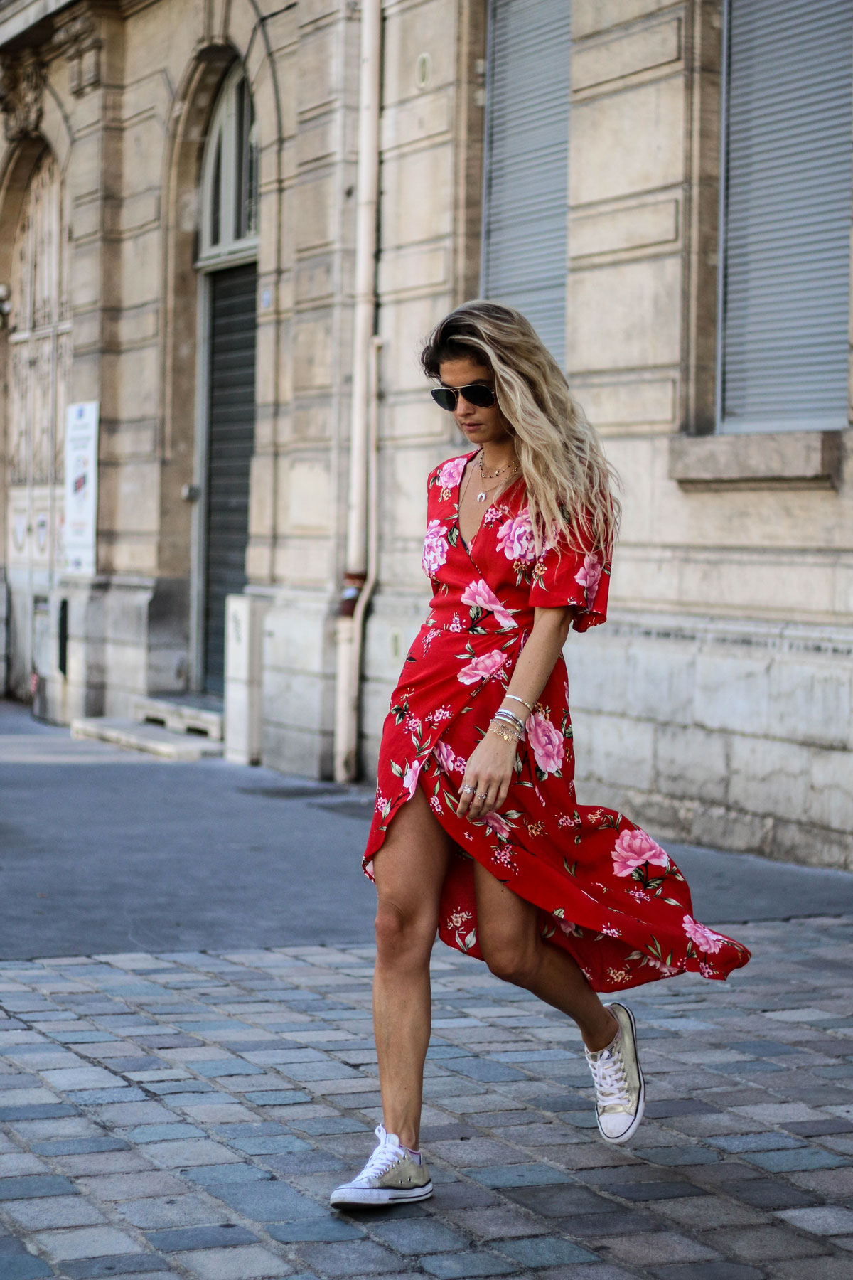 robe portefeuille newlook marieandmood blog mode