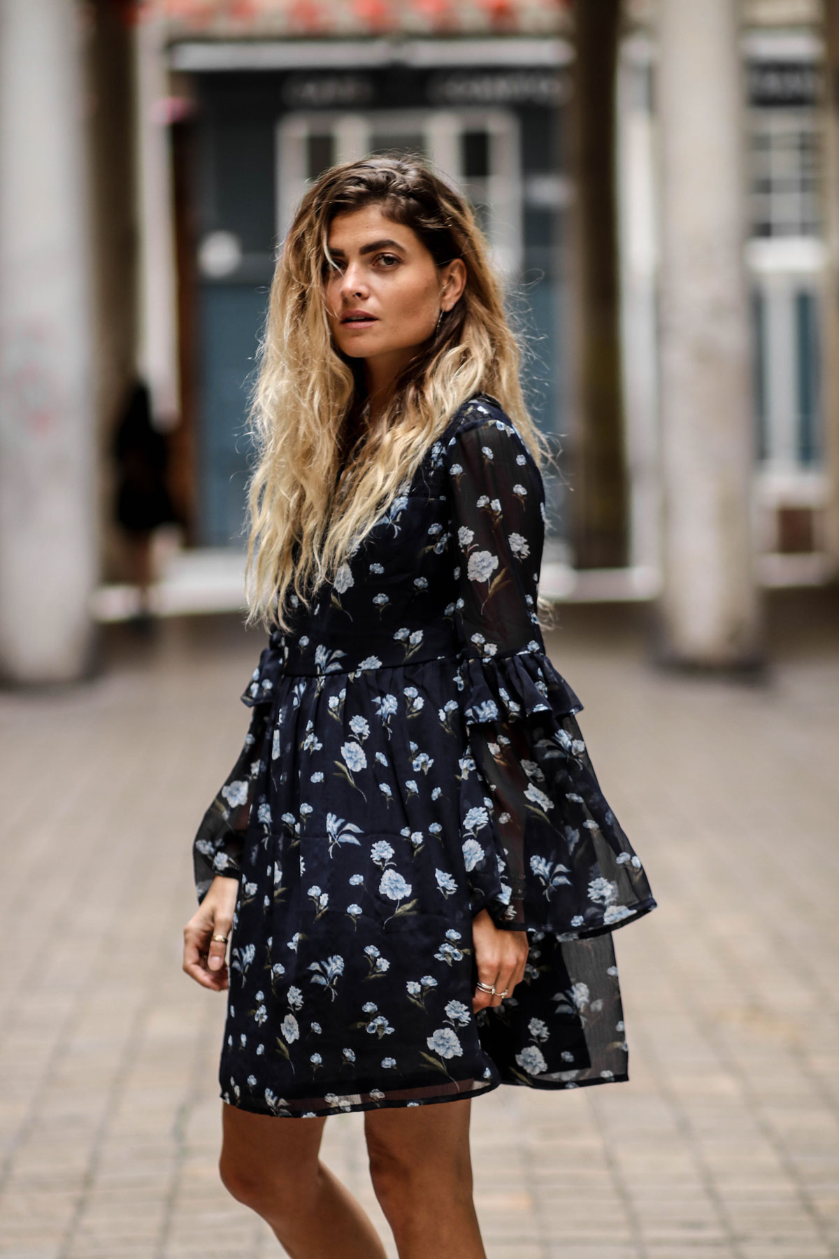 Robe fleuries New Look blog mode marieandmood