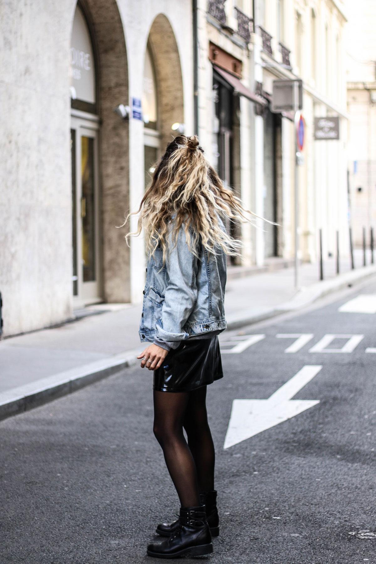 Jupe Vinyle Marie And Mood Blog Mode Et Lifestyle Lyon