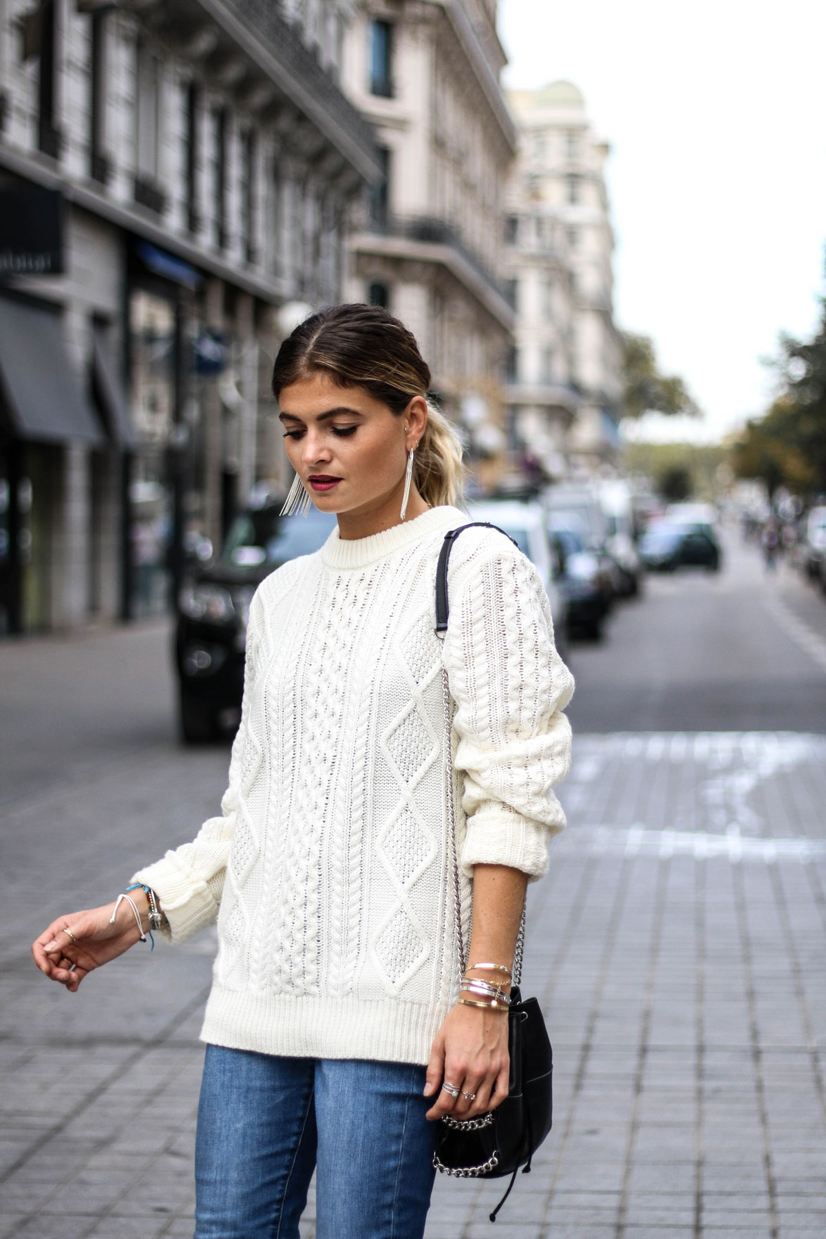 Pull en maille marie and mood