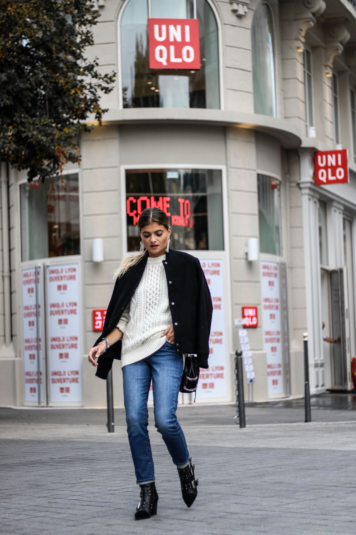 total look Uniqlo marie and mood