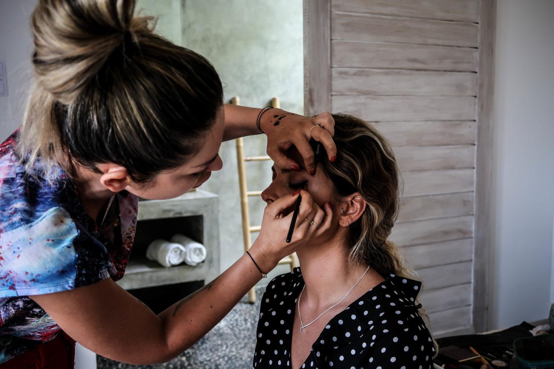 make up shooting le petit cartel