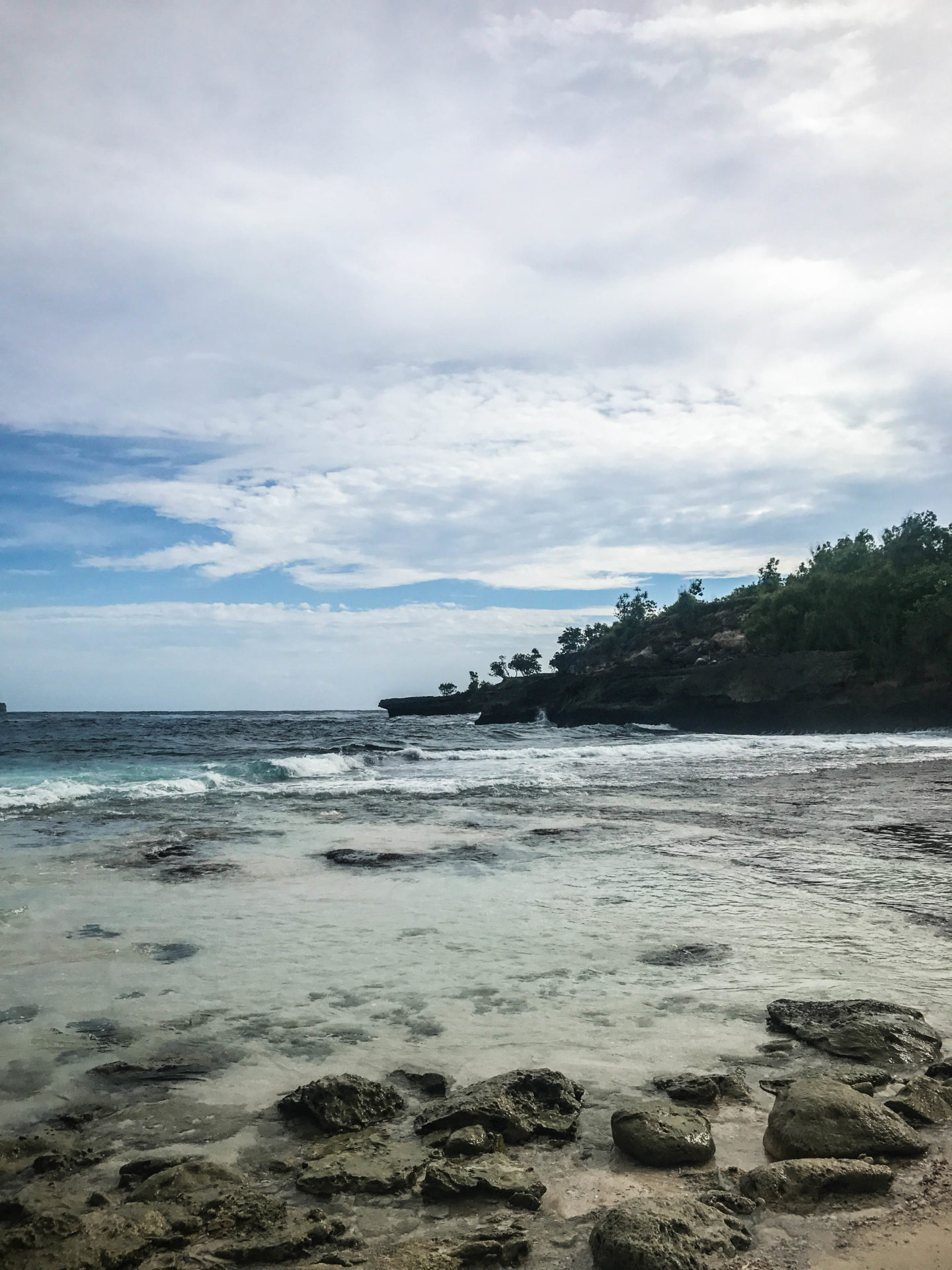 Secret beach Nusa Ceningan