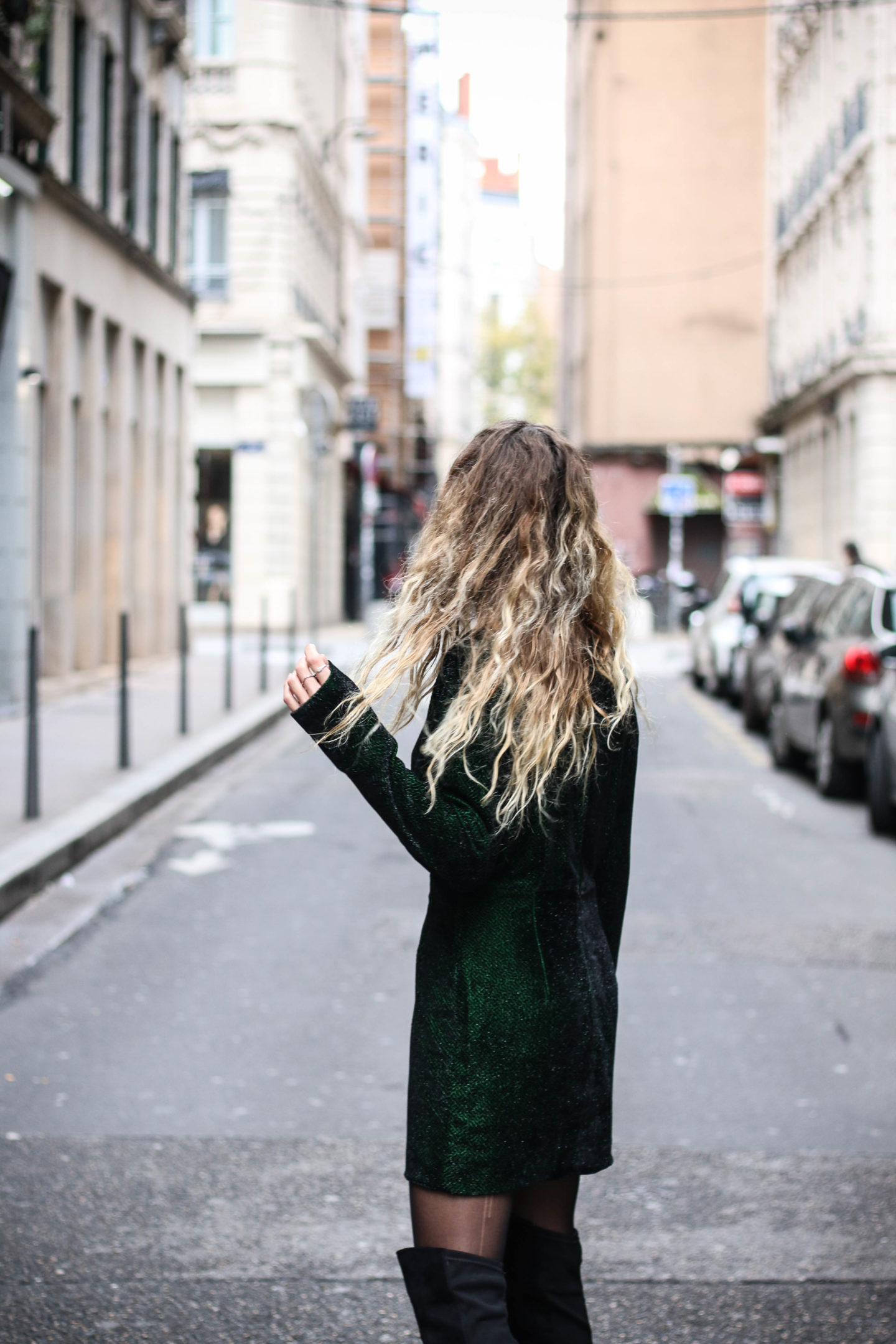 Robe de soirée verte &otherstories
