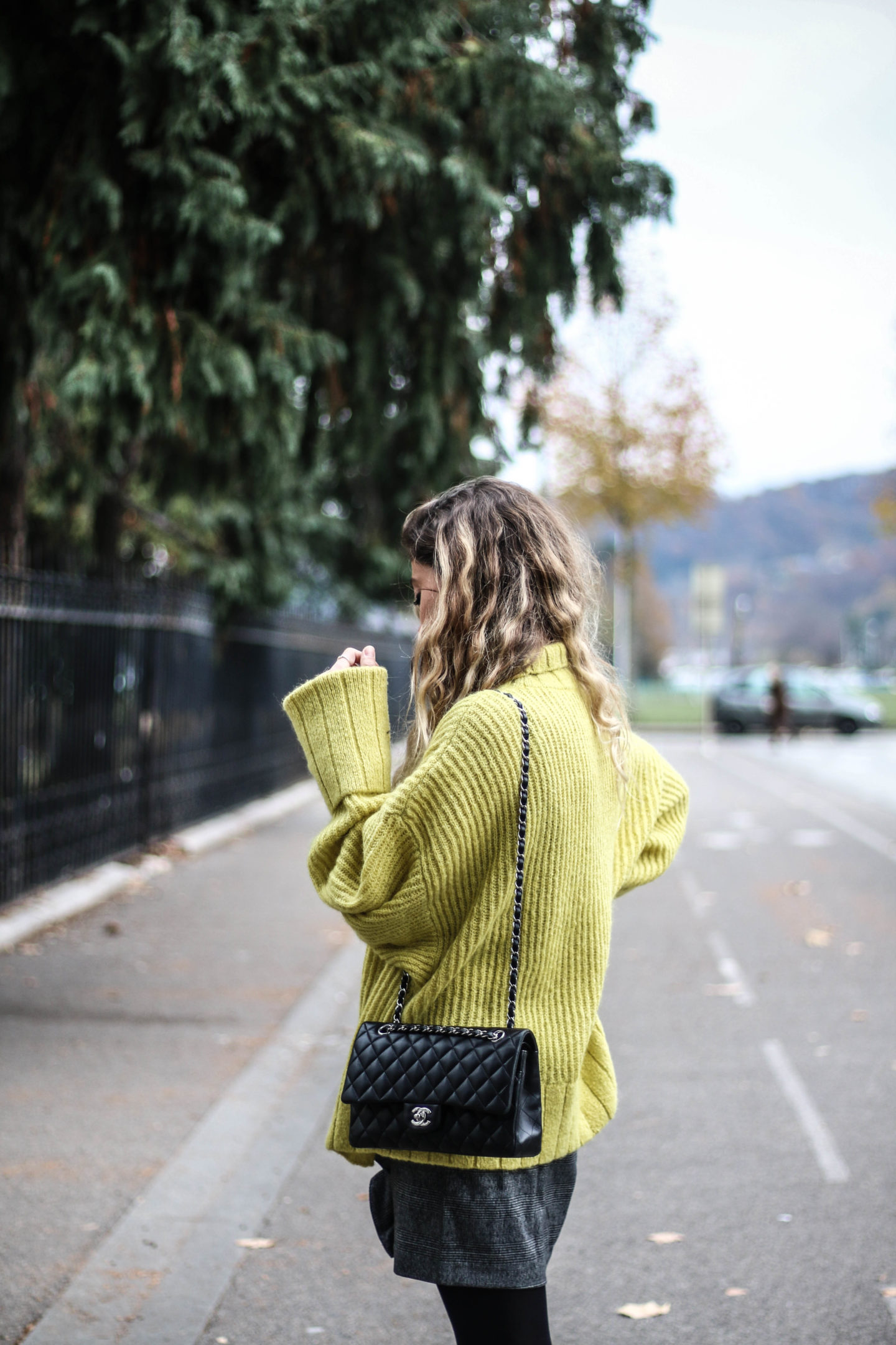 Pull jaune &OtherStories