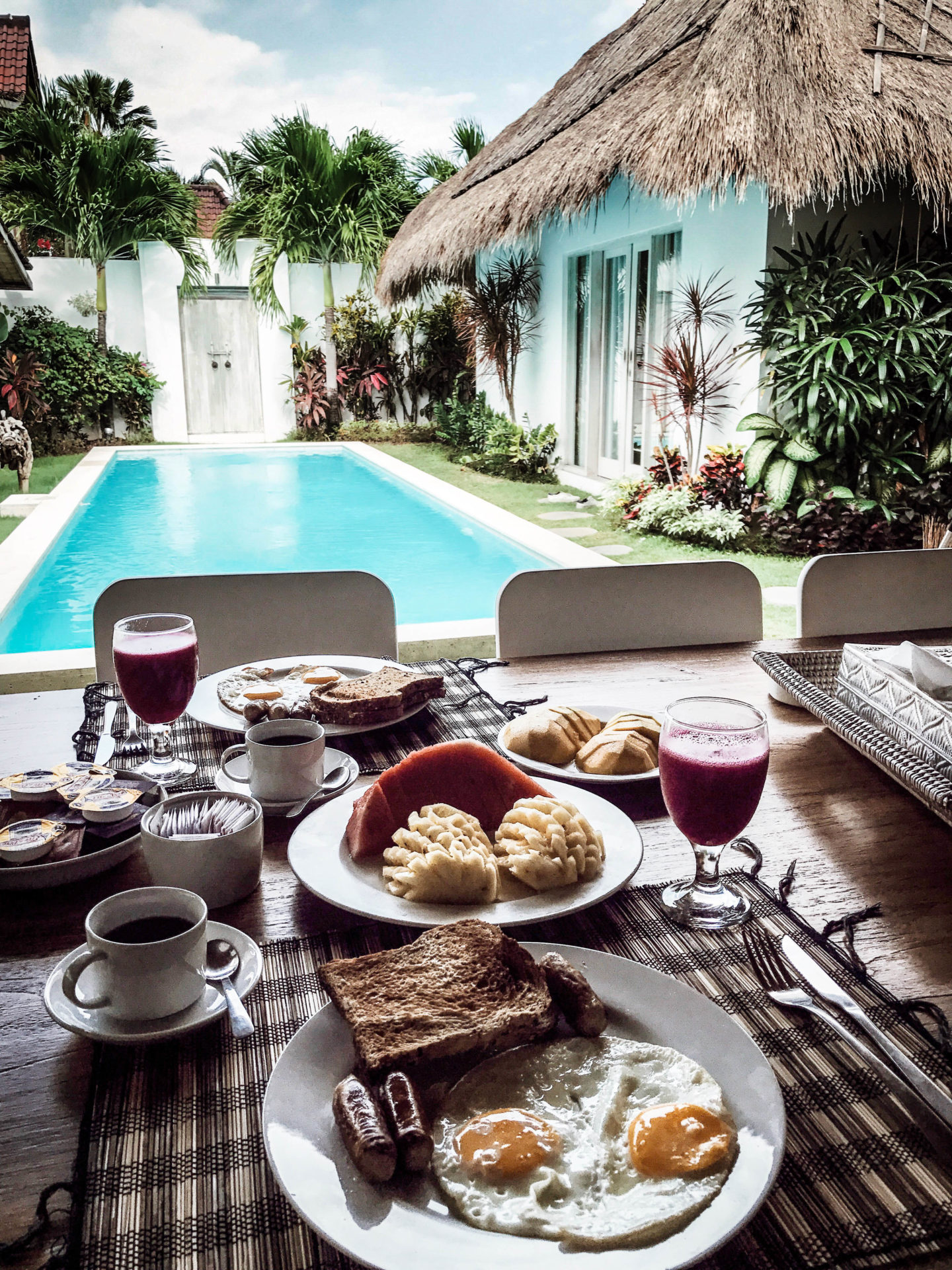 breakfast Seminyak Bali