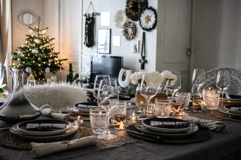 table de Noël marie and mood