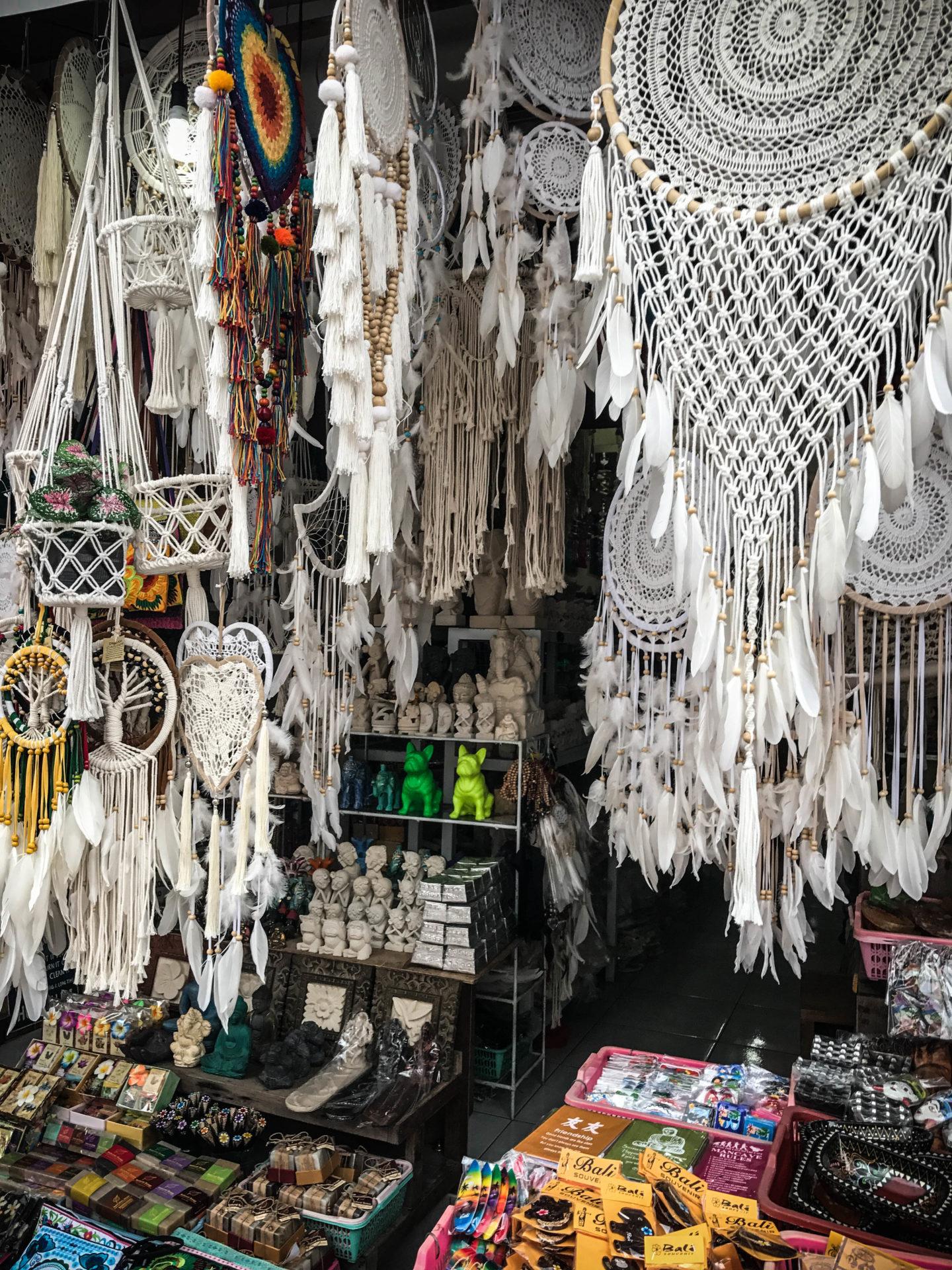 Ubud market voyage à Bali Marie and Mood