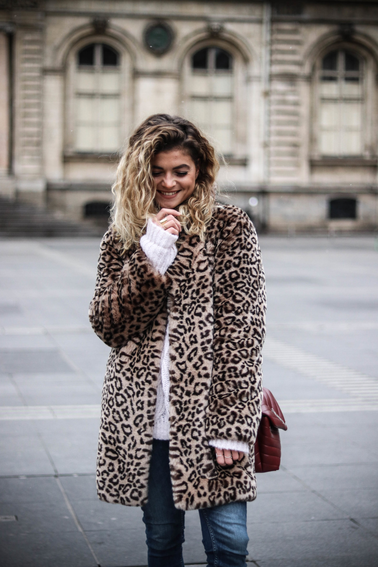 manteau léopard marie and mood blog mode