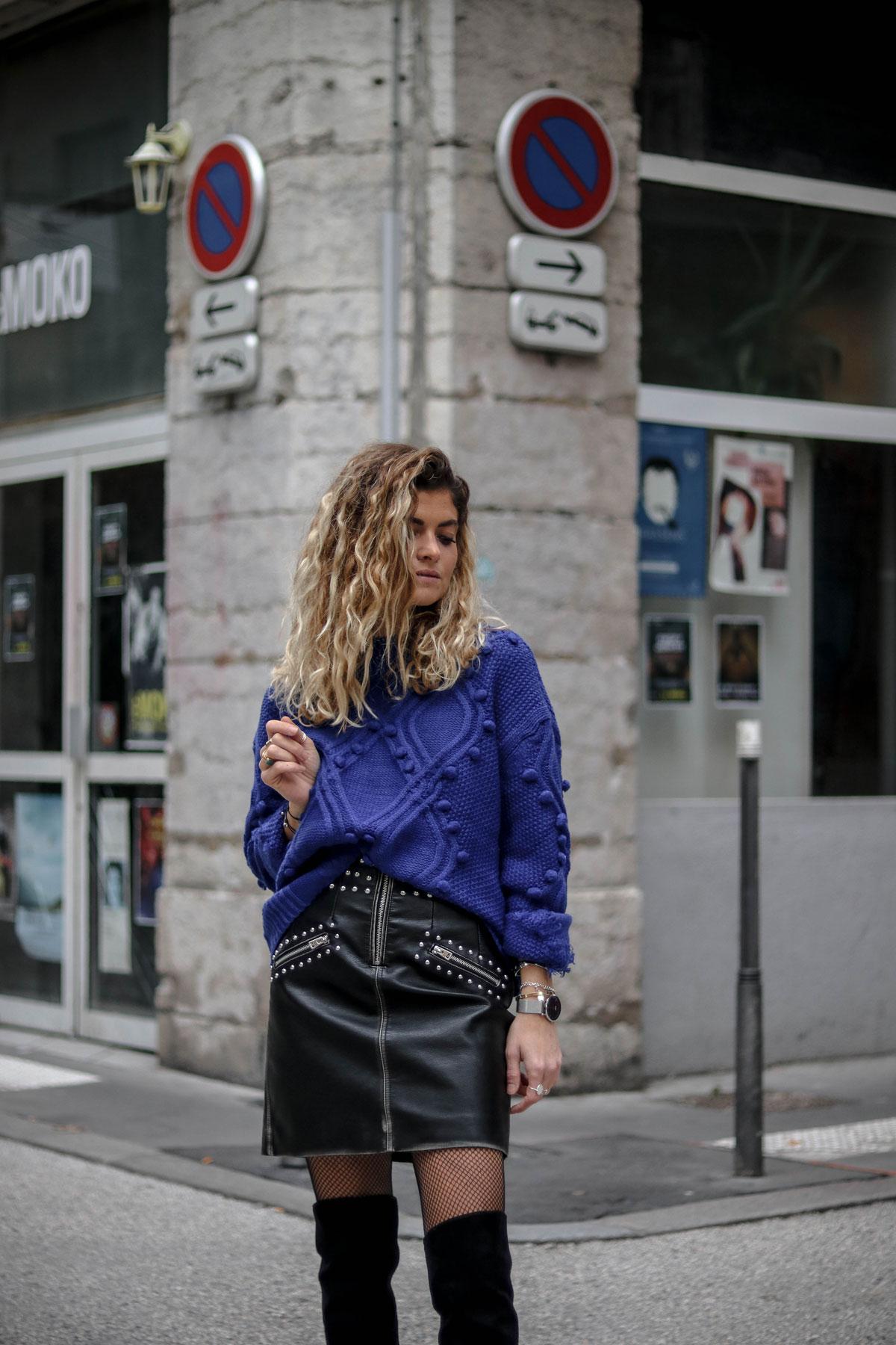 jupe simili cuir topshop