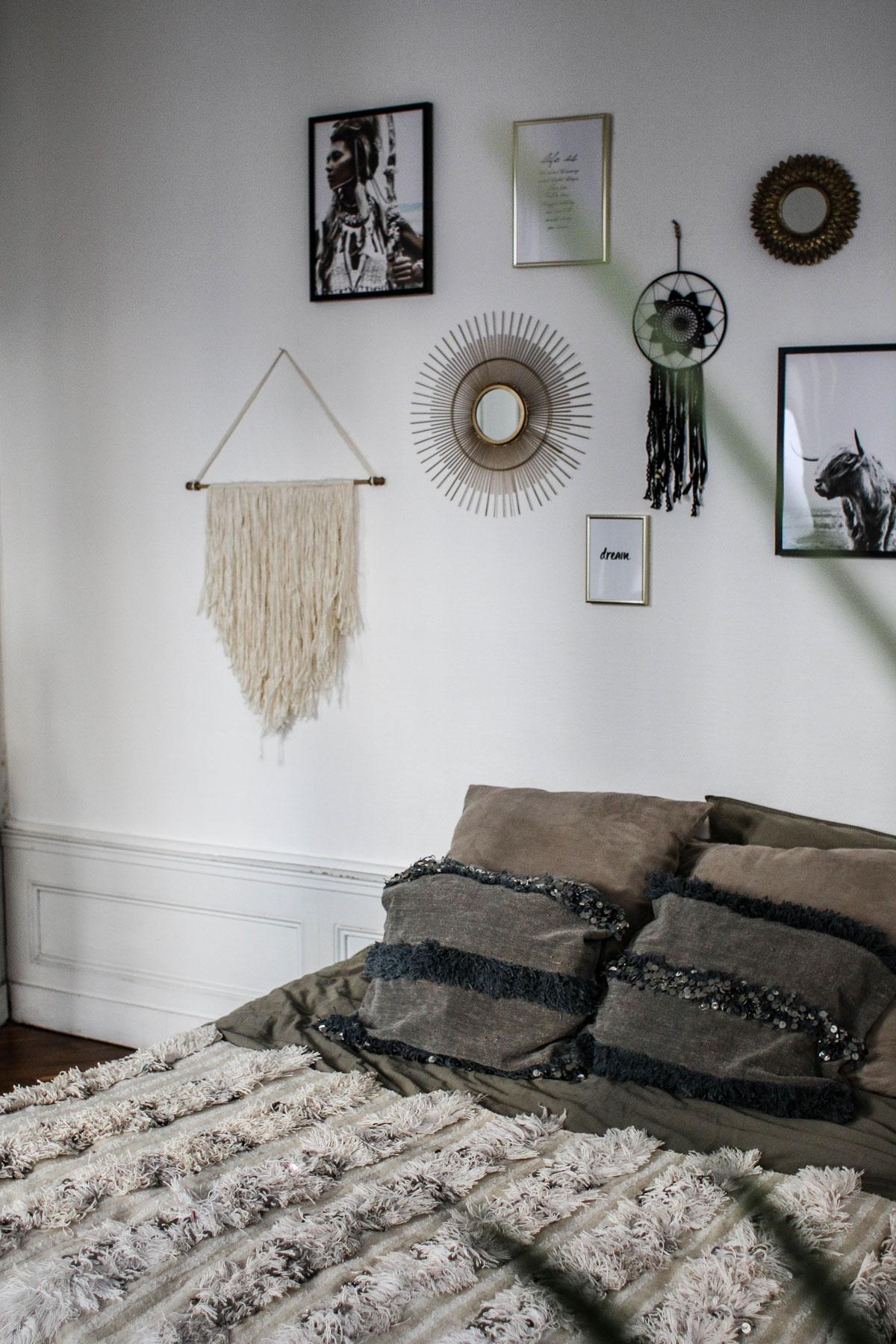 Decoration Murale Pour Tete De Lit dÉco #1 - chambre/salon - marie and mood - blog lifestyle