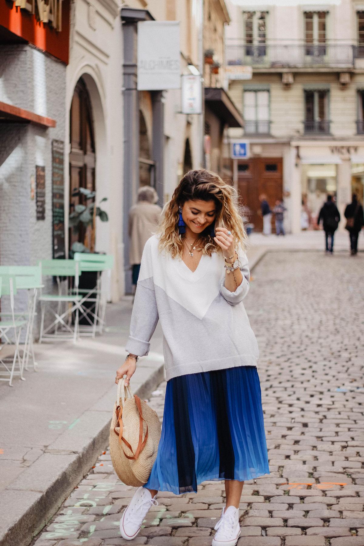 converse femme avec jupe