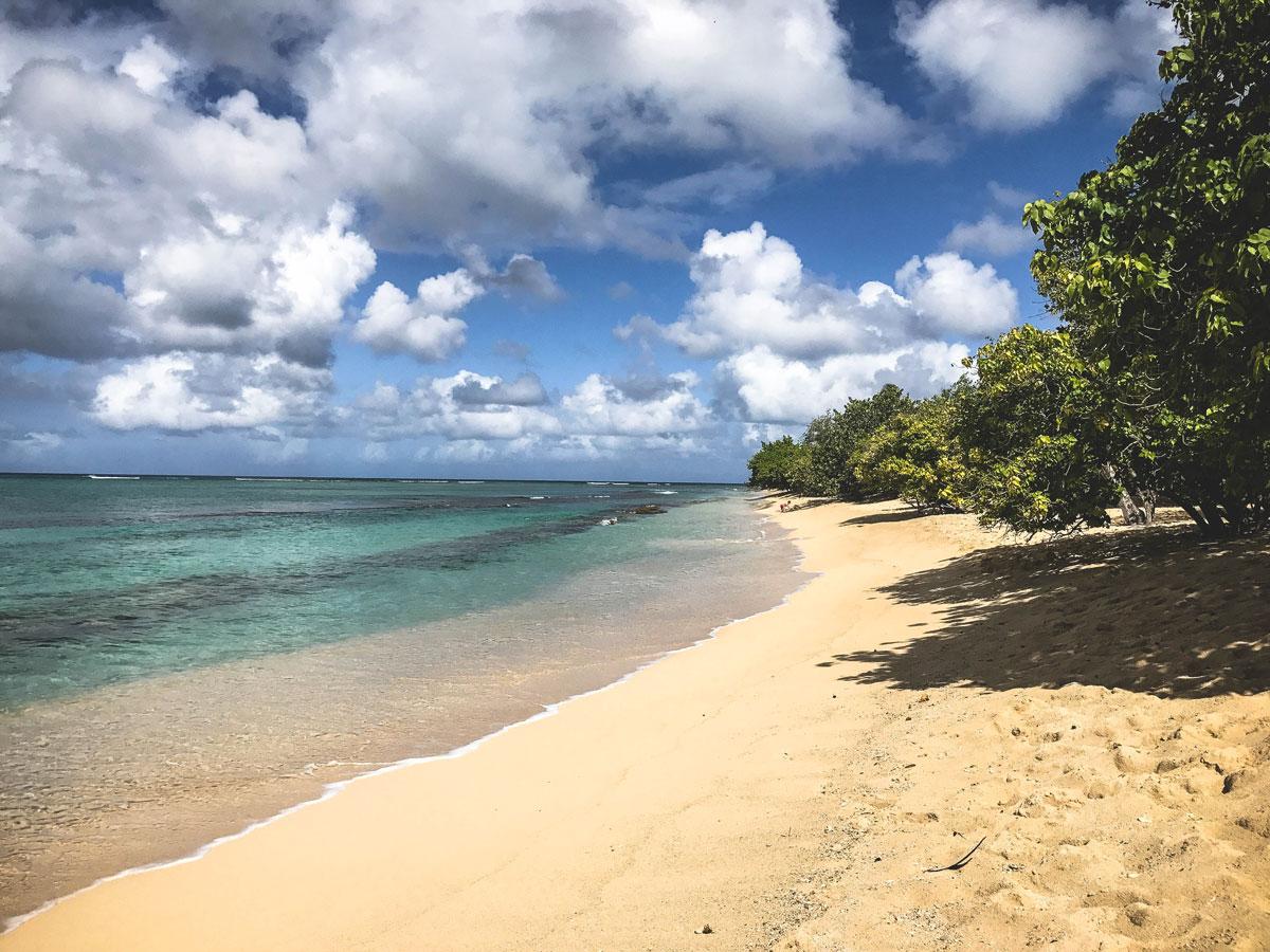 Plage du Souffleur Guadeloupe