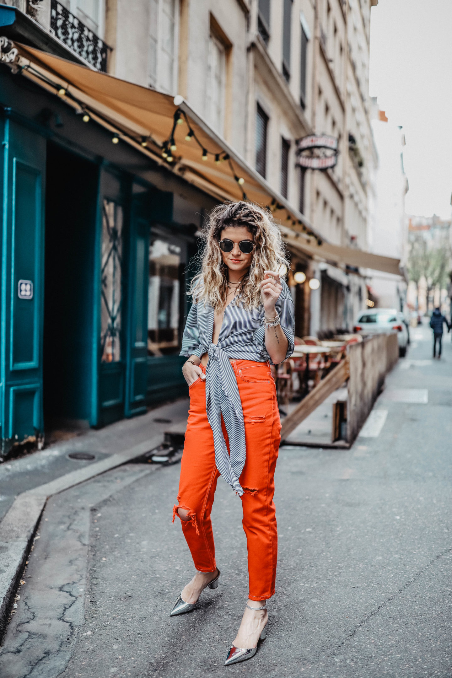 tendance mode couleur rouge marie and mood