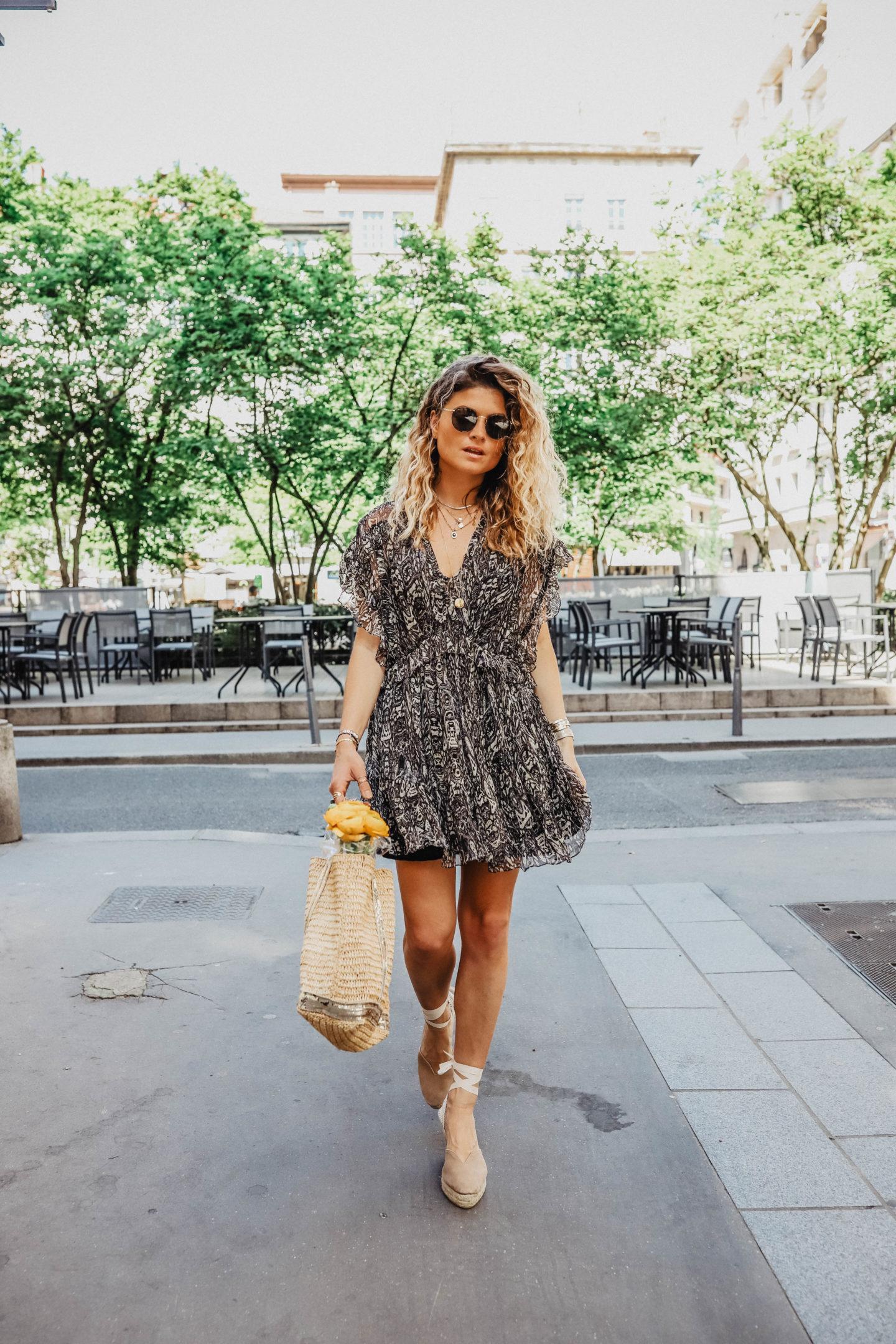 Tenue de printemps marie and mood blog mode