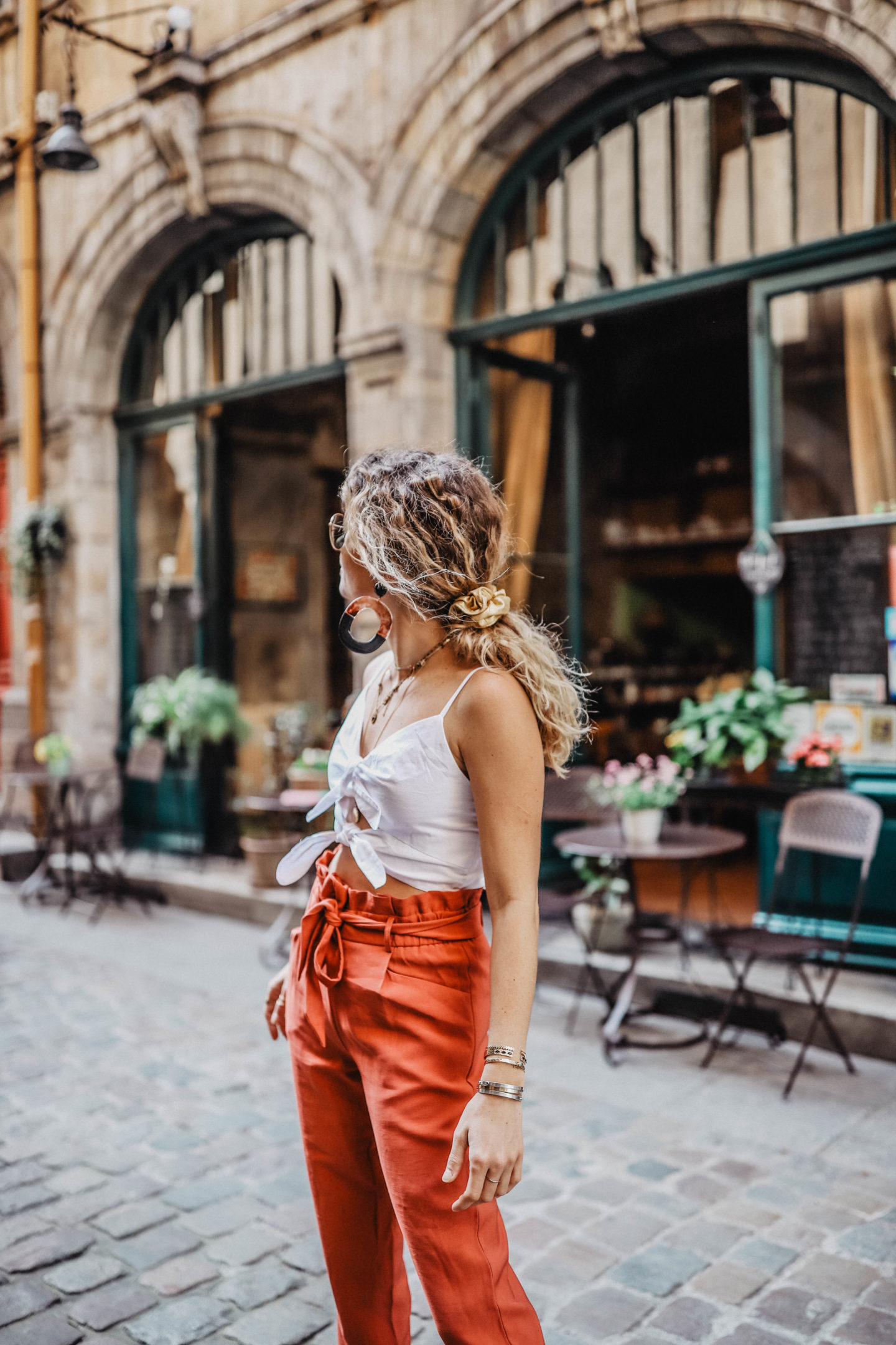 Tendance accessoire cheveux chouchou marie and mood