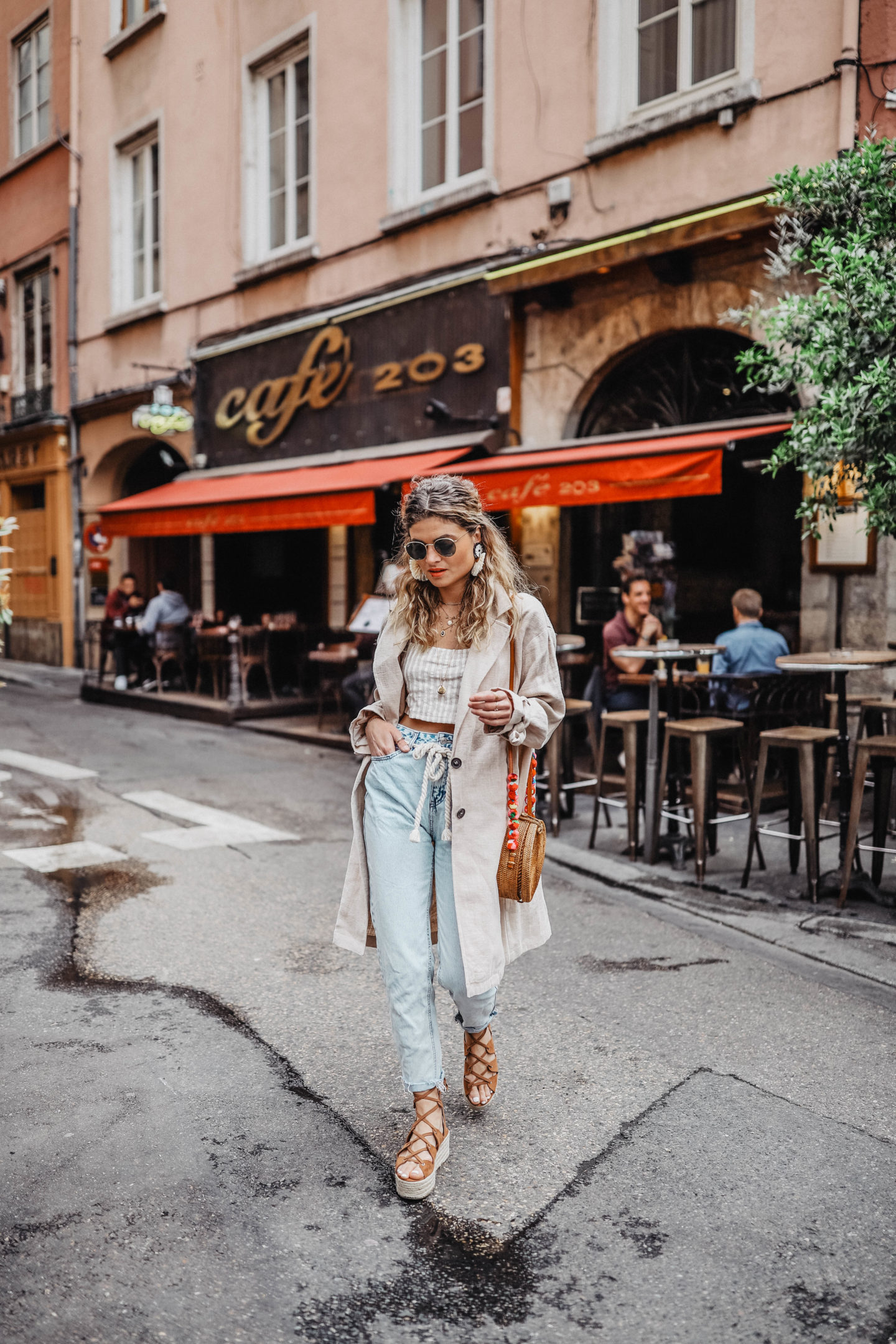 marie and mood total look Pull&Bear