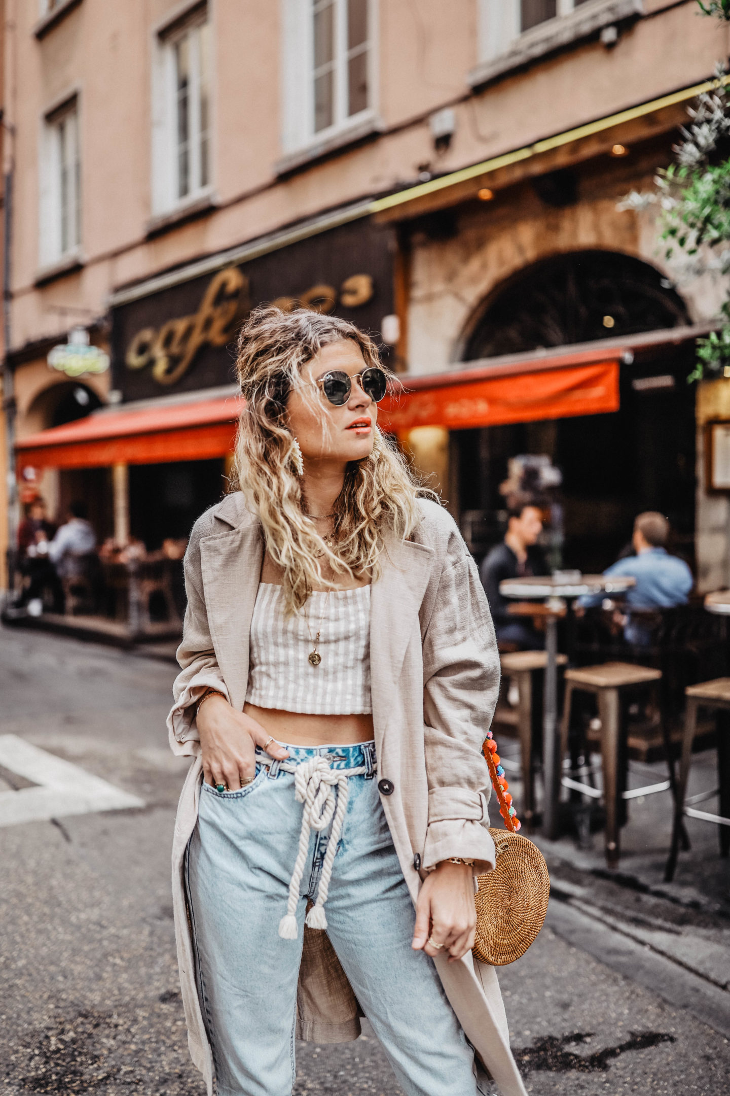 Crop top Pull&Bear Marie and Mood blog mode
