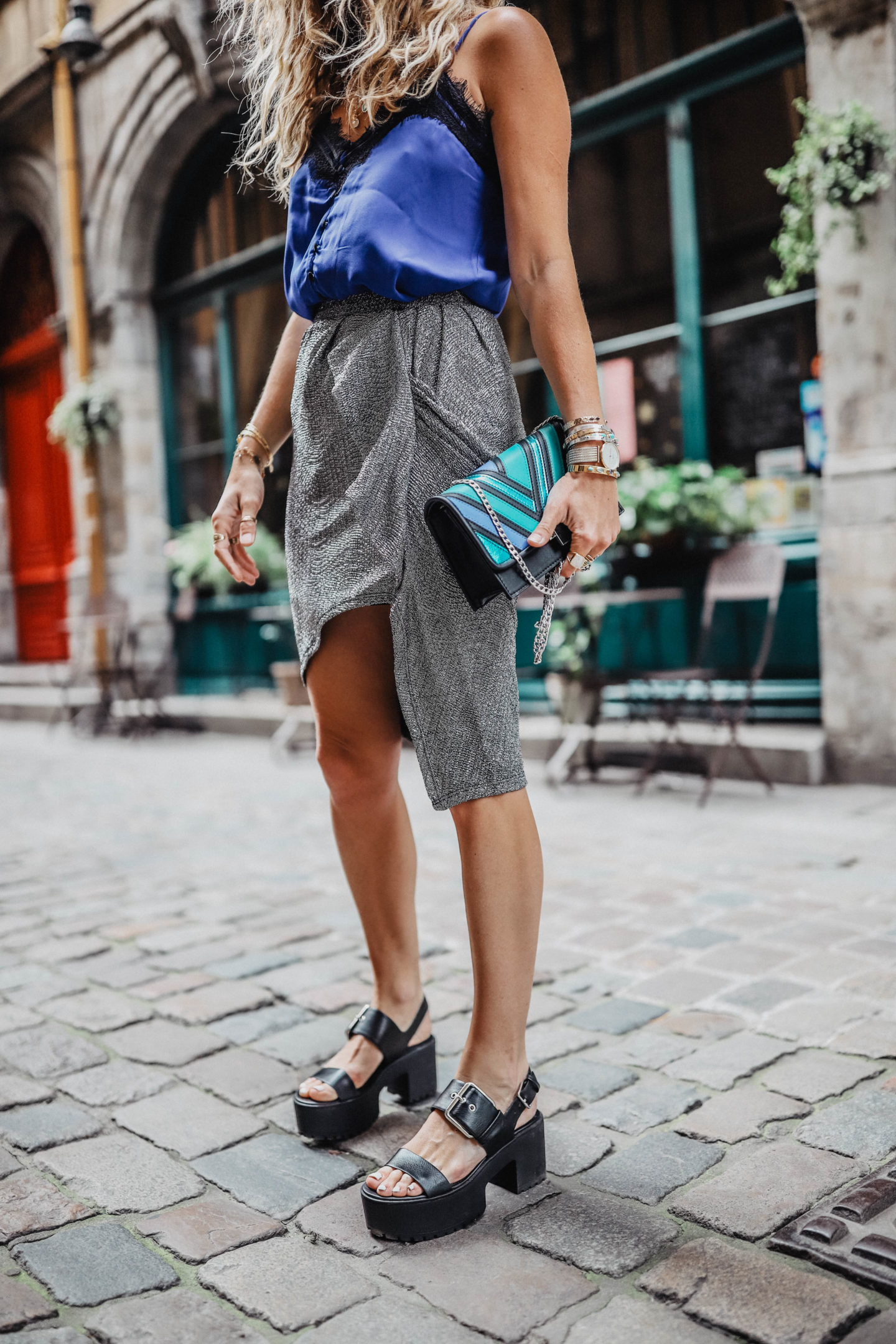 Chaussures plateformes Bershka Marie and Mood