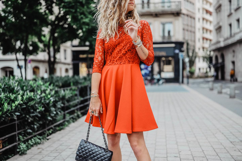 Tenue femmes robe marie and mood blog