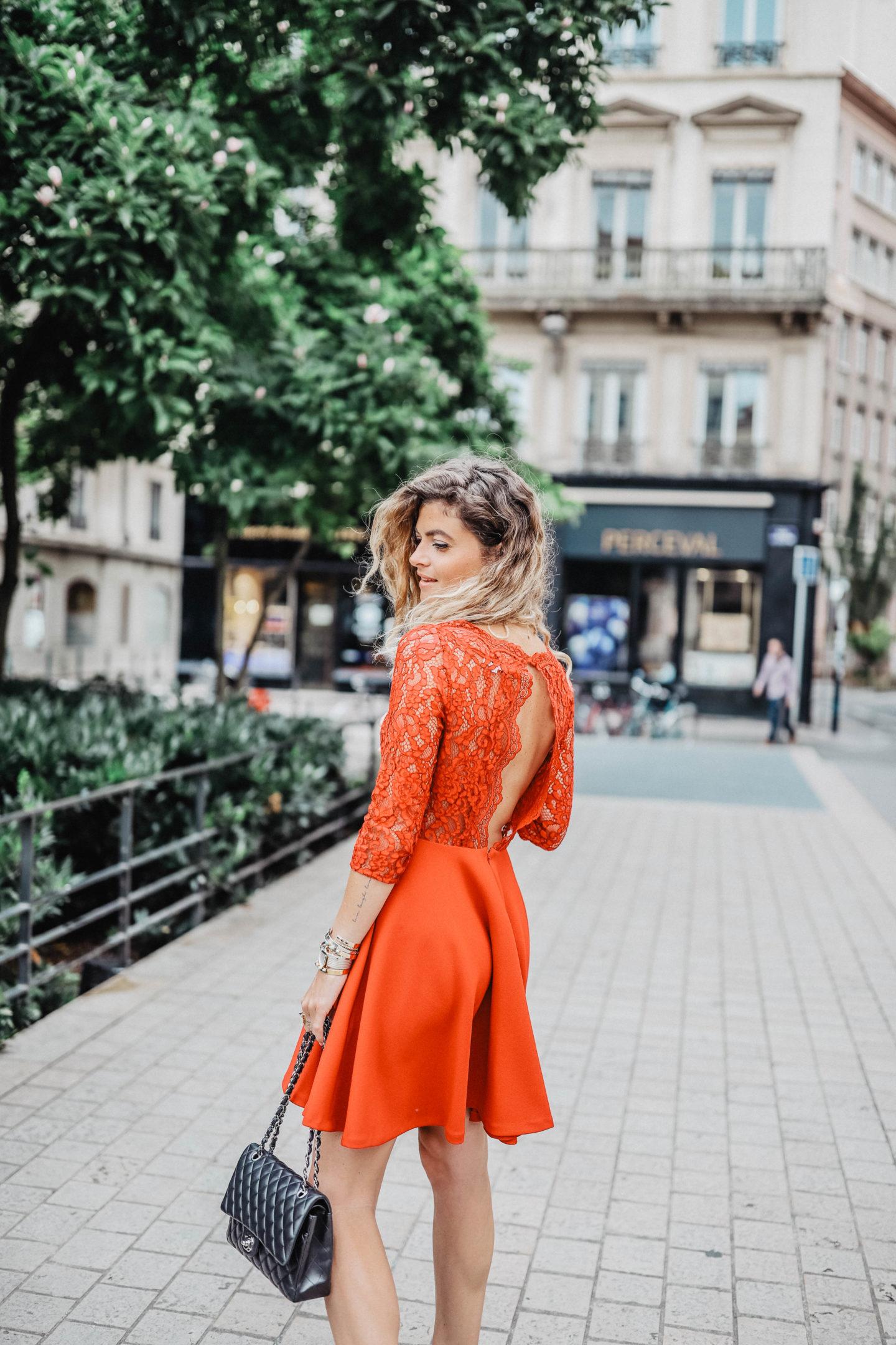 d029444b2de8 Robe rouge Claudie Pierlot - Marie and Mood - Blog mode et lifestyle