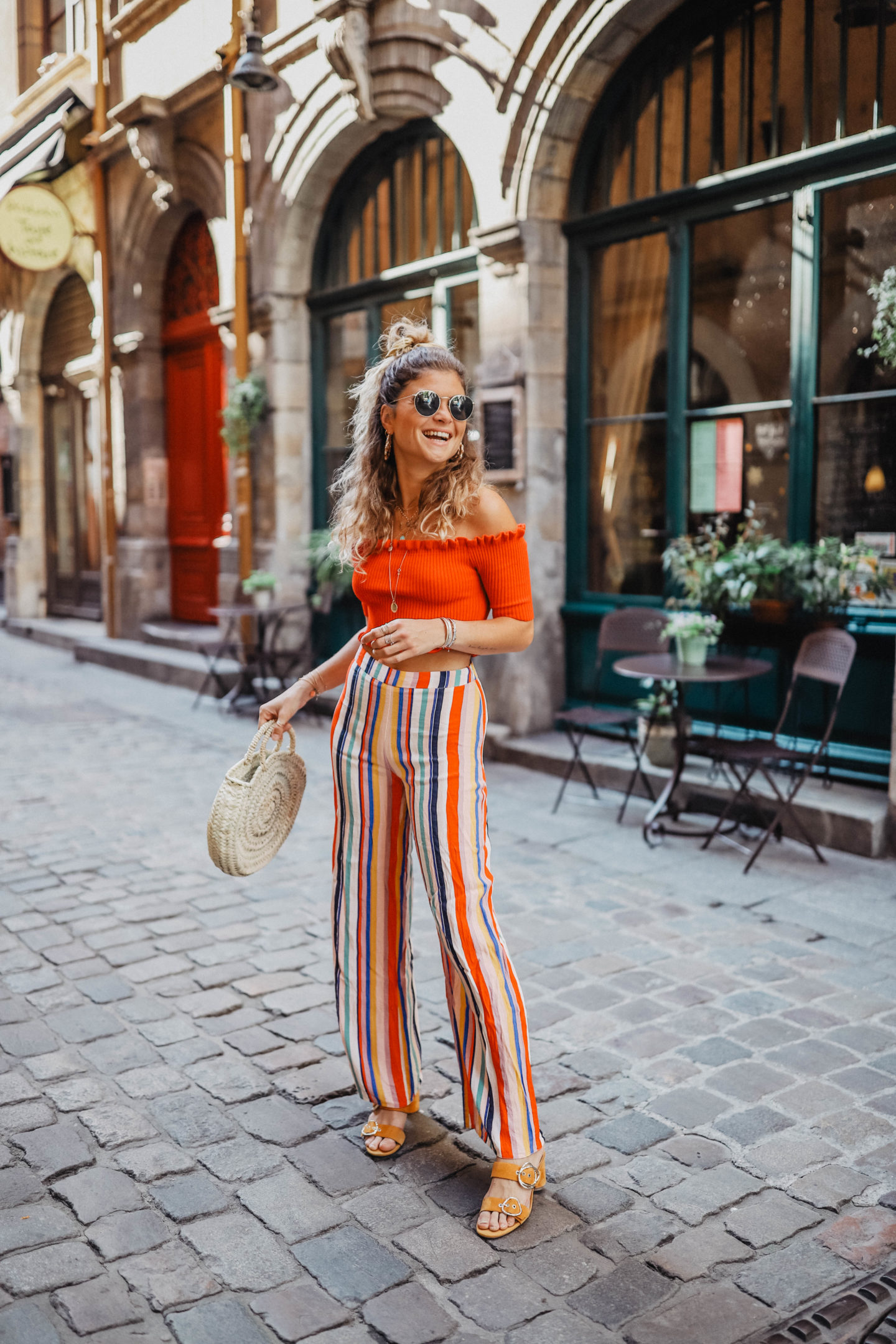 Tendance pantalon palazzo marie and mood blog mode