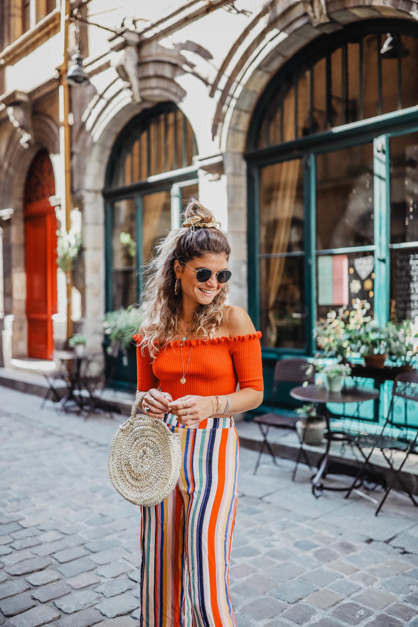Tenue colorée pour l'été femmes marie and mood blog