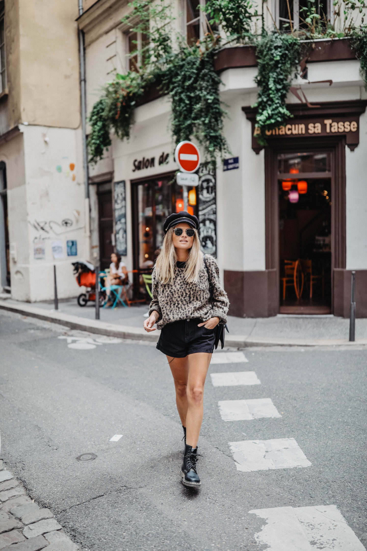 Tendance léopard marie and mood blog