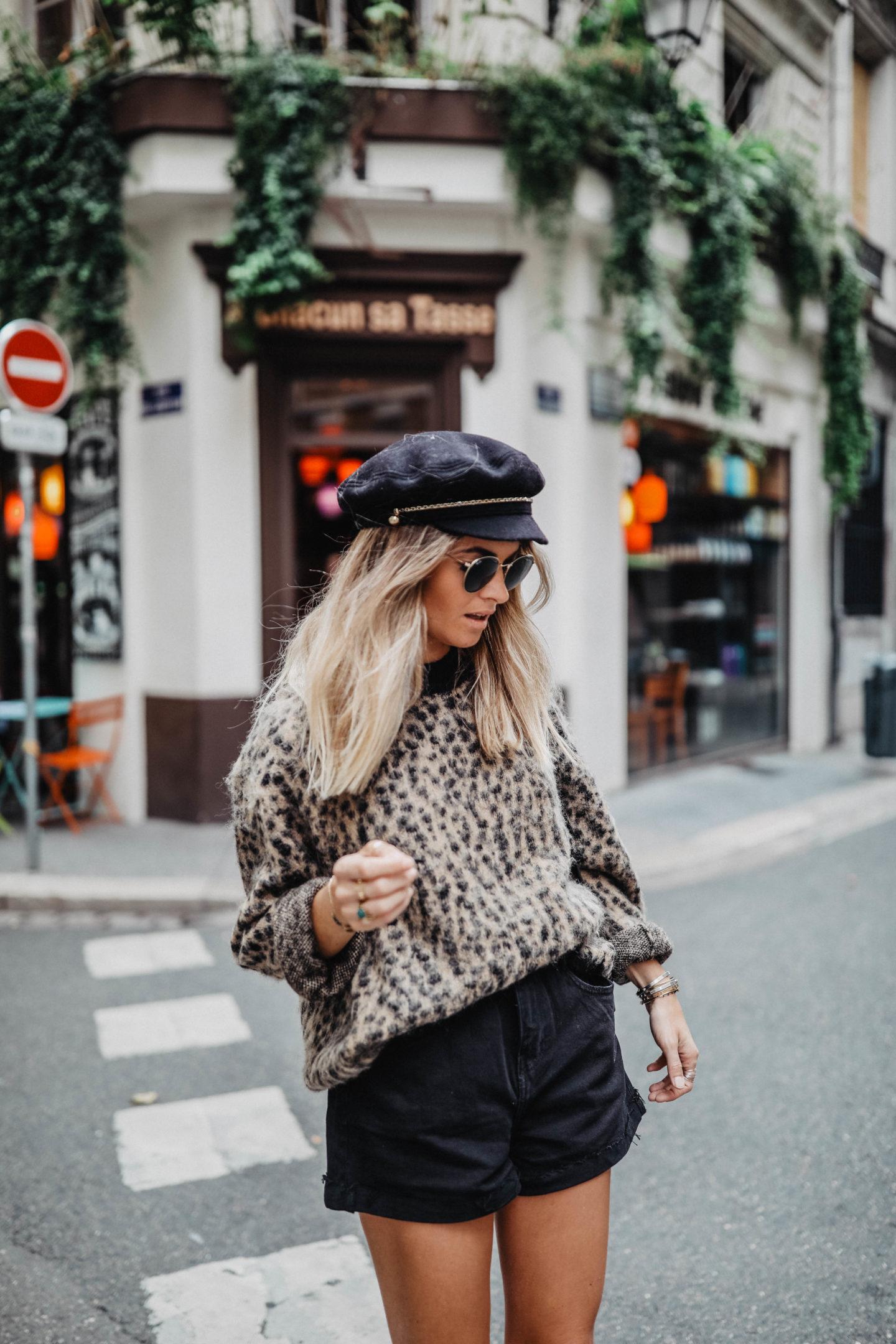 Comment porter l'imprimé léopard marie and mood blog