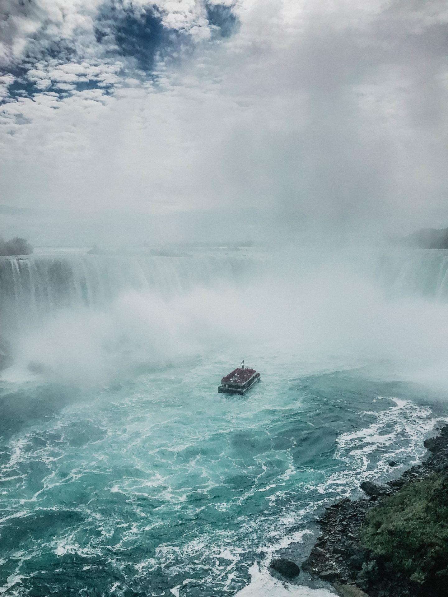 Croisière bateau Niagara Fall