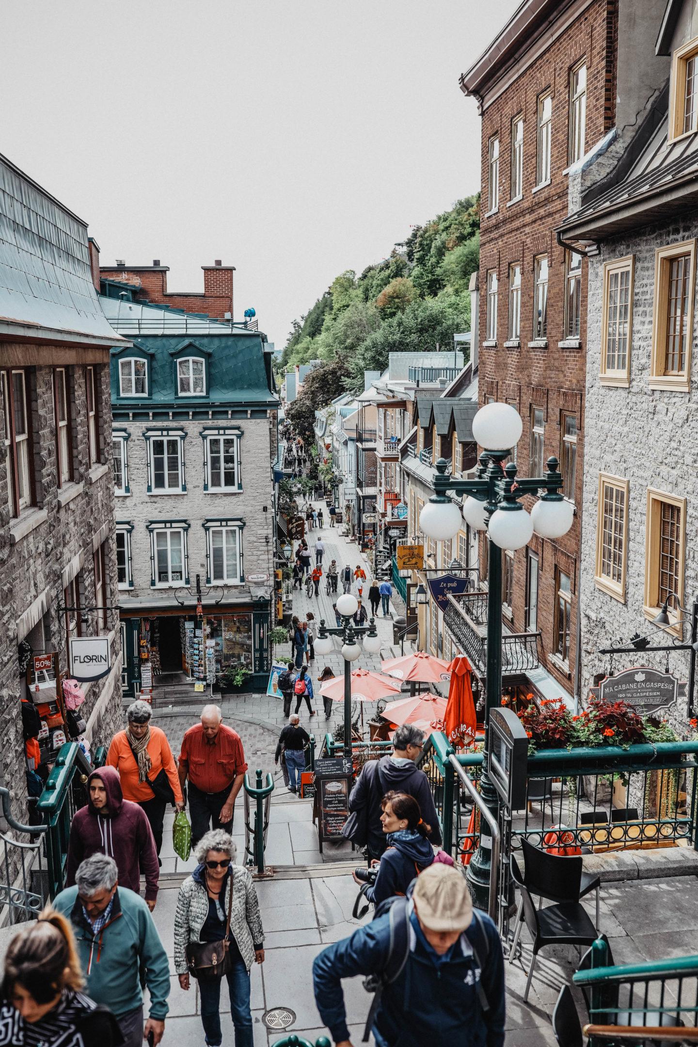 Quartier du vieux Québec