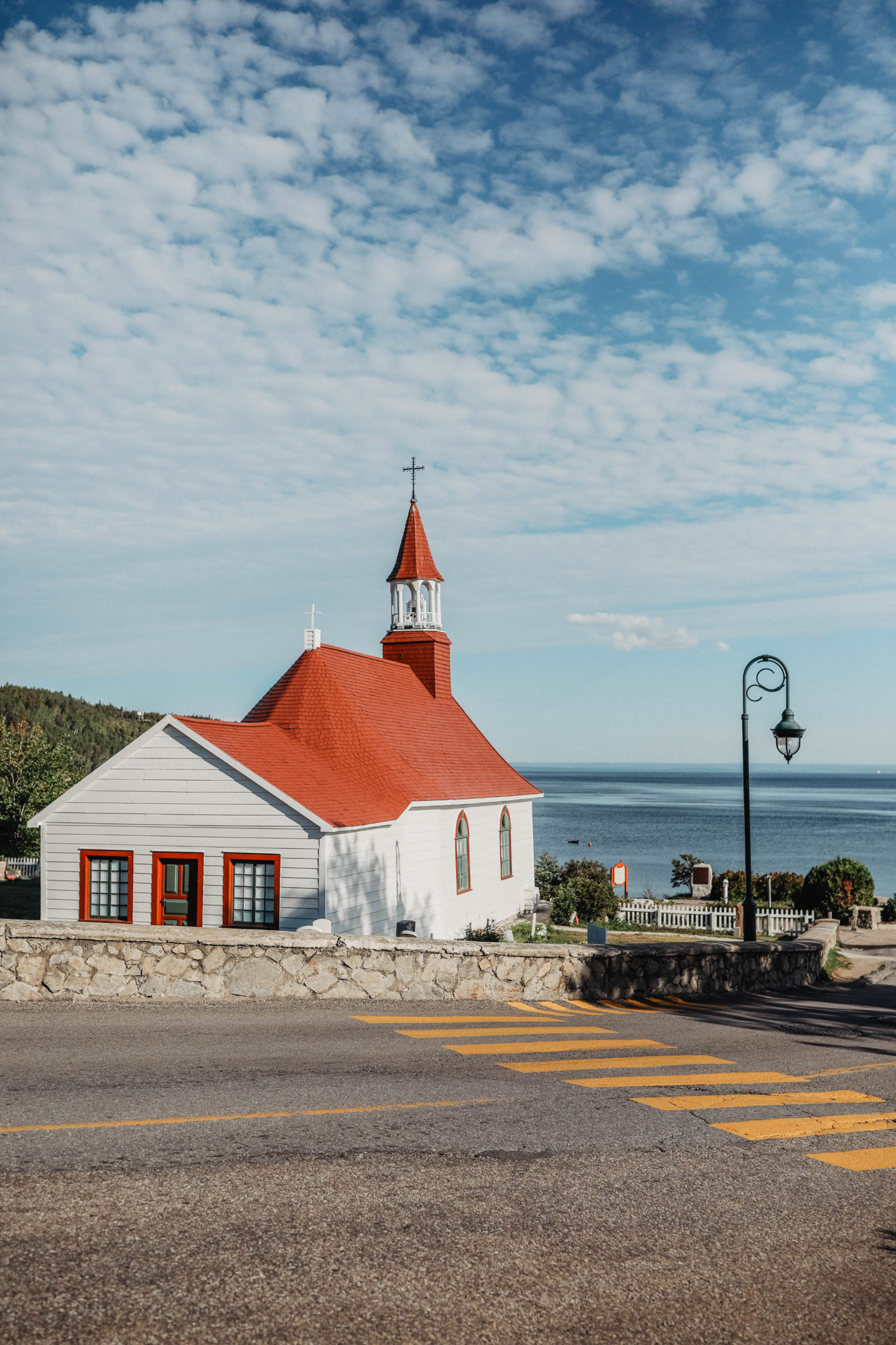 Eglise de Tadoussac marie and mood blog