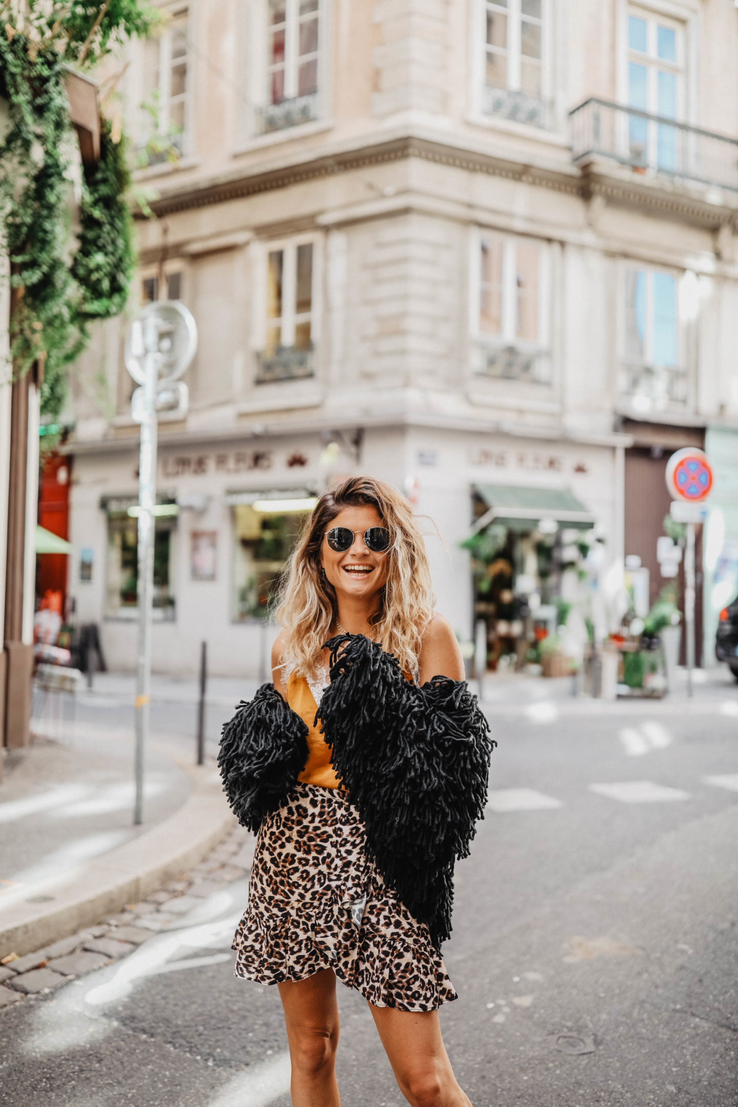 Gilet moumoute MissGuided marie and mood blog