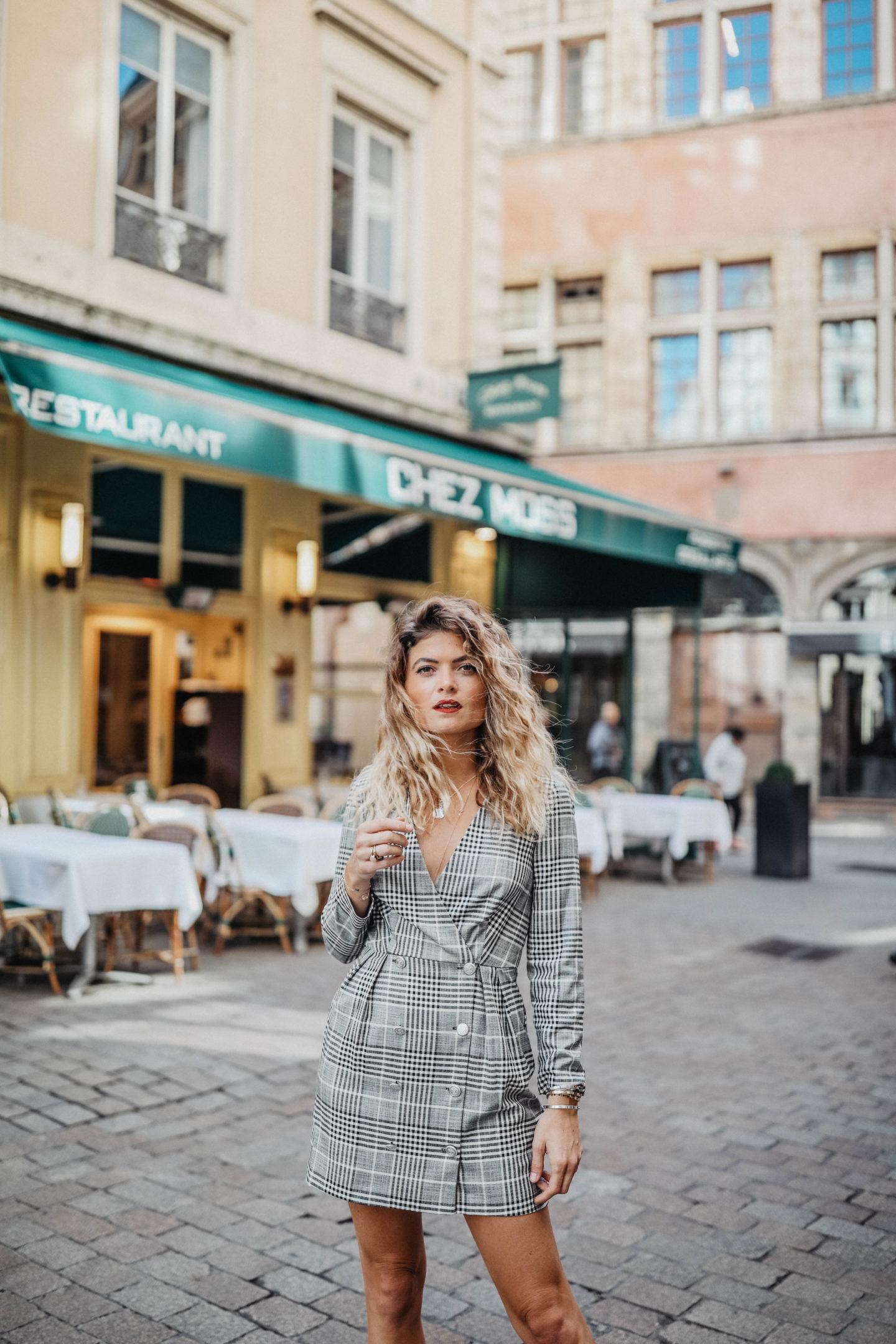 Mood Mode Blazer And Blog Carreaux Lifestyle Robe Marie À Et SzqUVMp