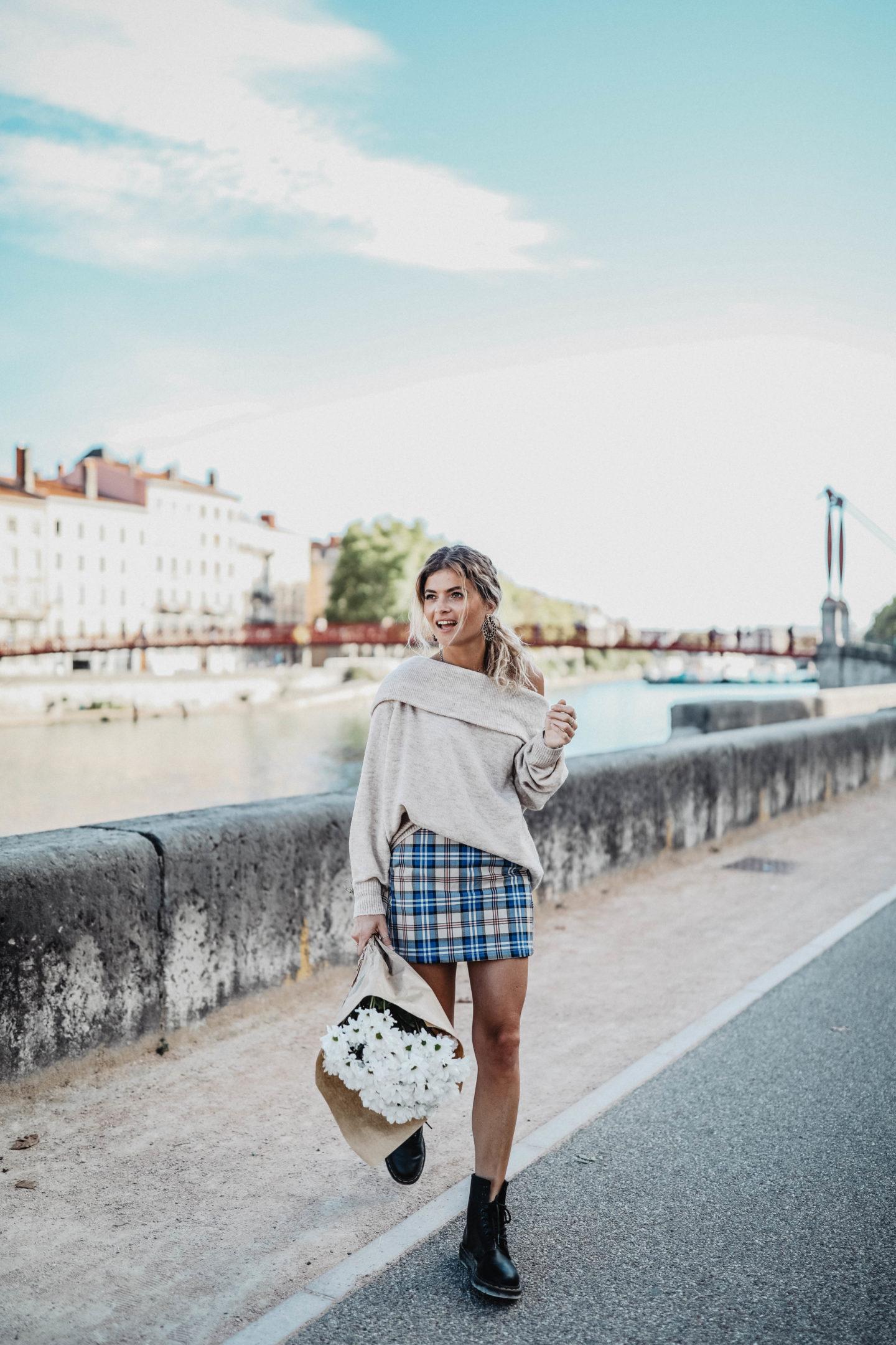 Tenue pour l'automne marie and mood  blog mode