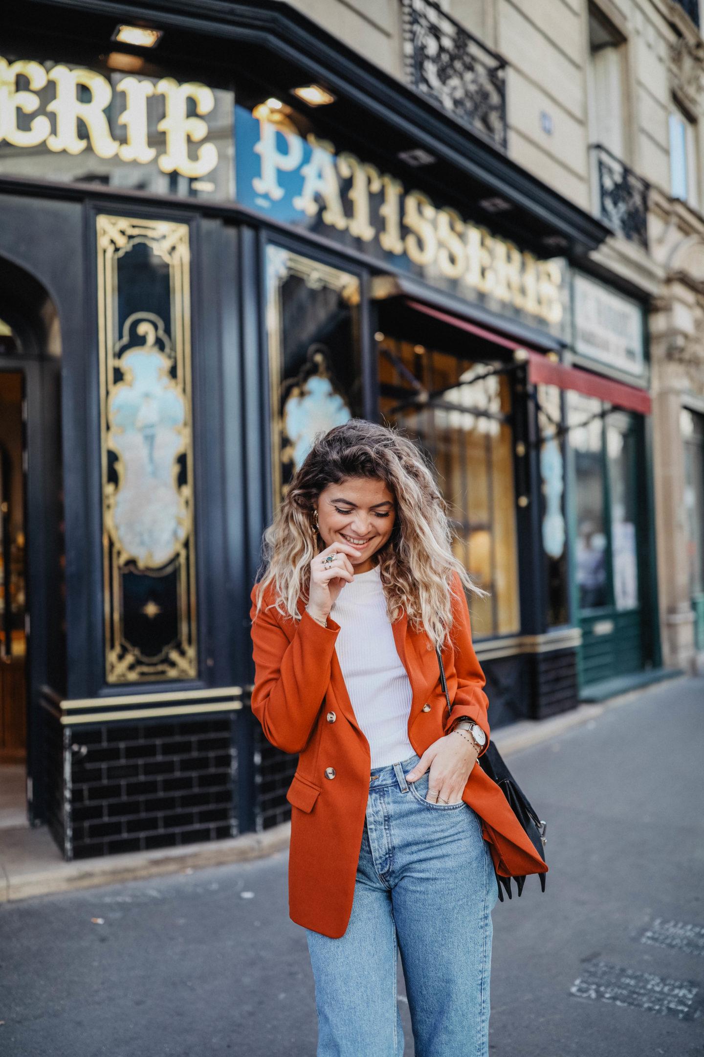 Comment porter le blazer marieandmood blog mode lyon