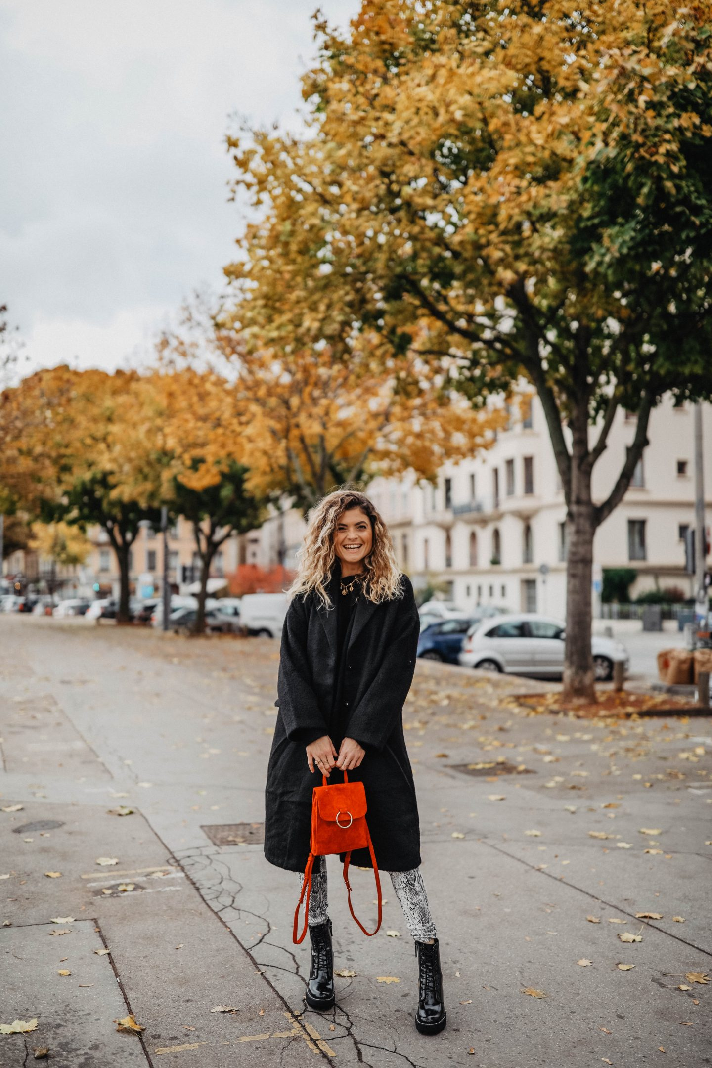 Look python tendance automne marie and mood blog