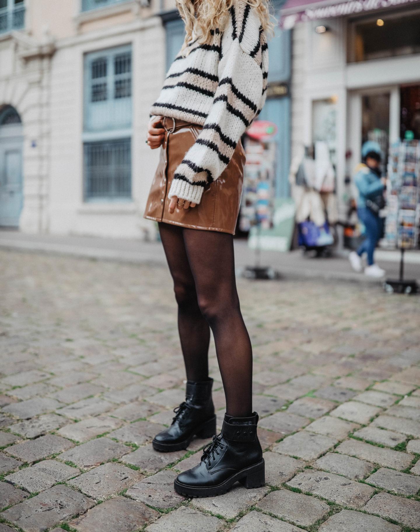 Boots style rangers Bershka Marie and Mood blog