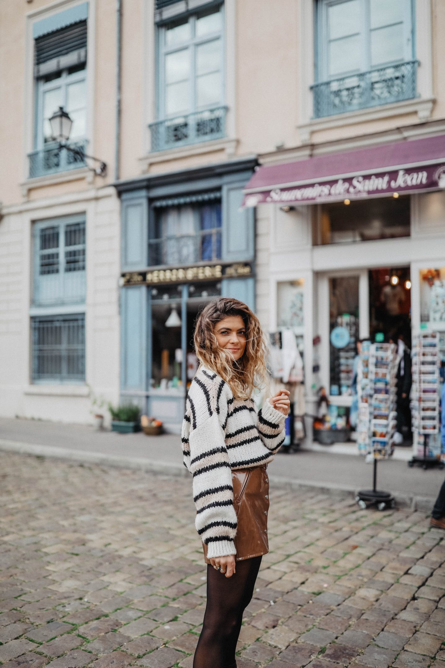 Tenue d'automne marie and mood blog mode lyon