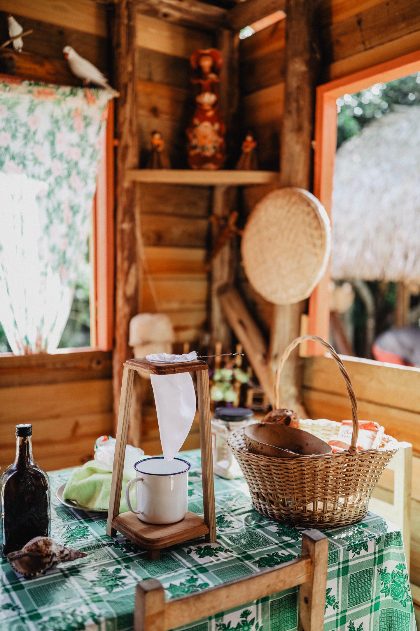 Dégustation de café local marie and mood road trip république déominicaine