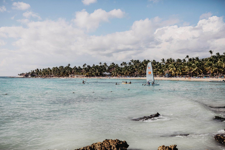Activité nautique Dominicus Palace République Dominicaine marie and mood blog