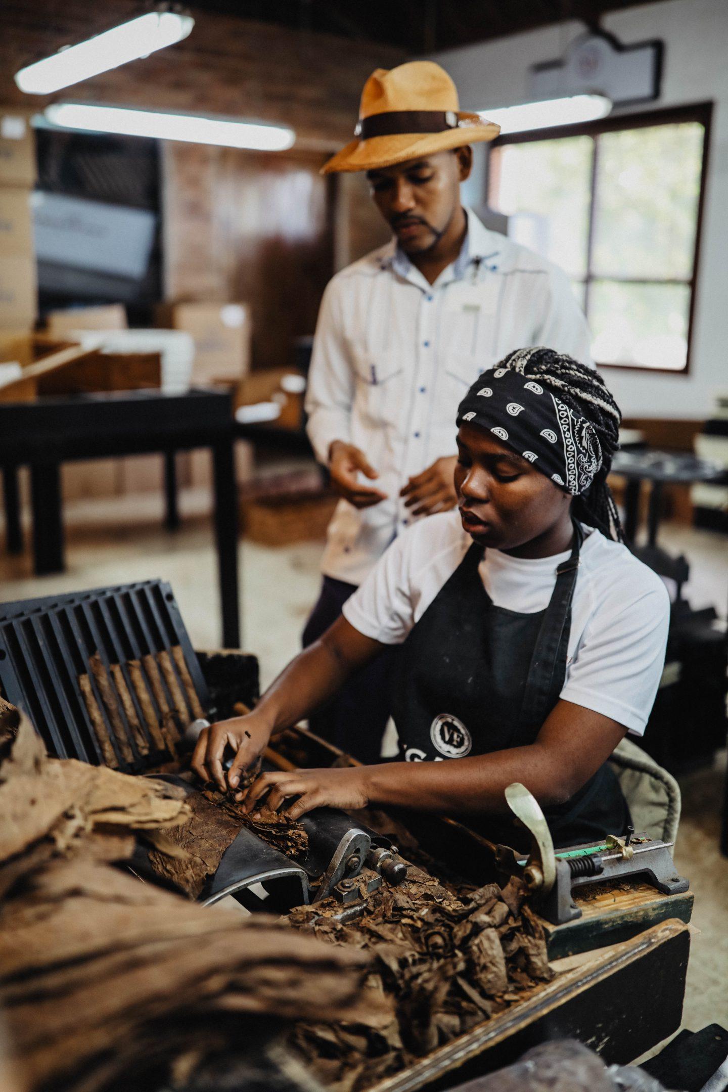 Fabrique de cigars République Dominicaine marie and mood lifestyle