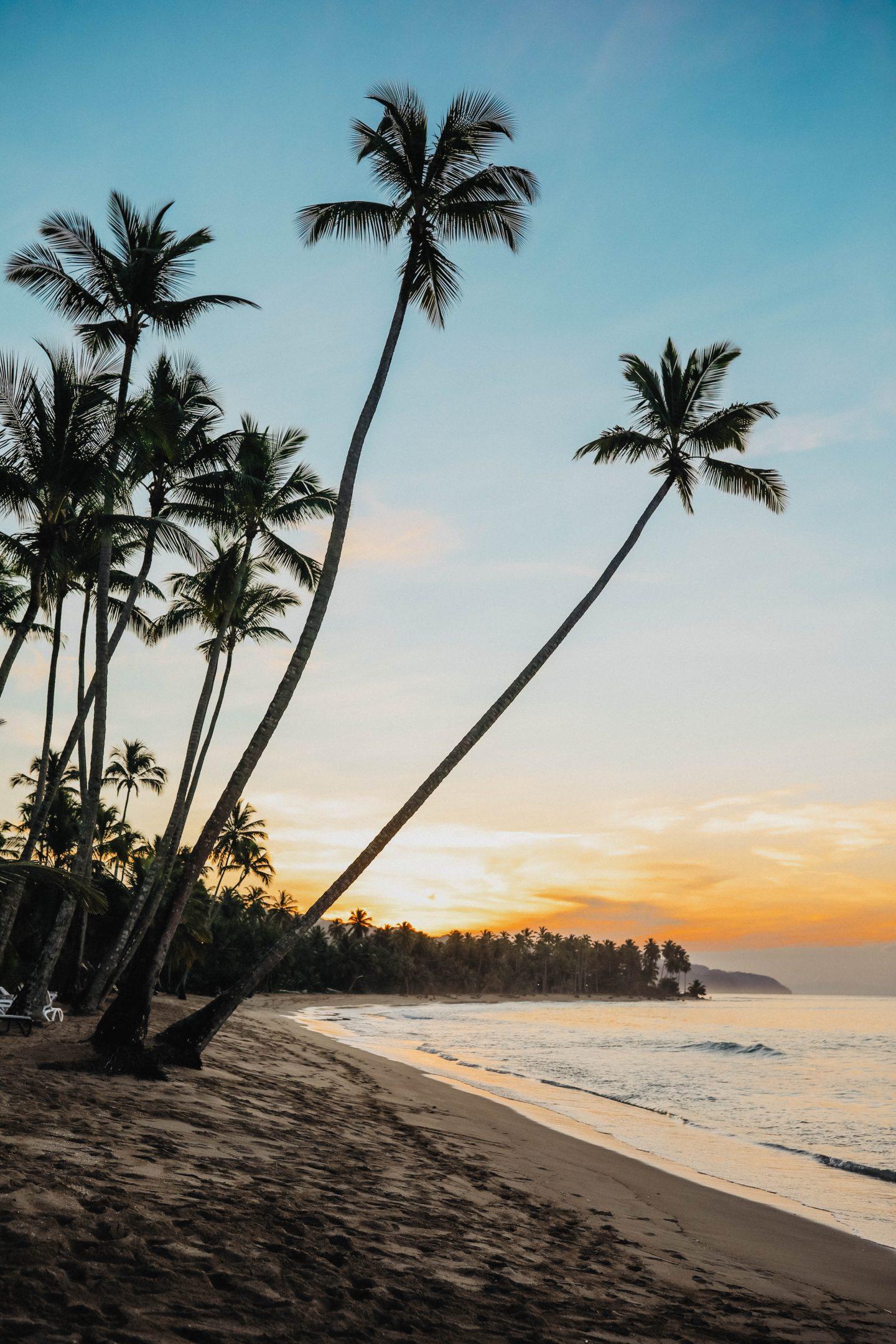 Coucher de soleil République Dominicaine marie and mood blog lifestyle