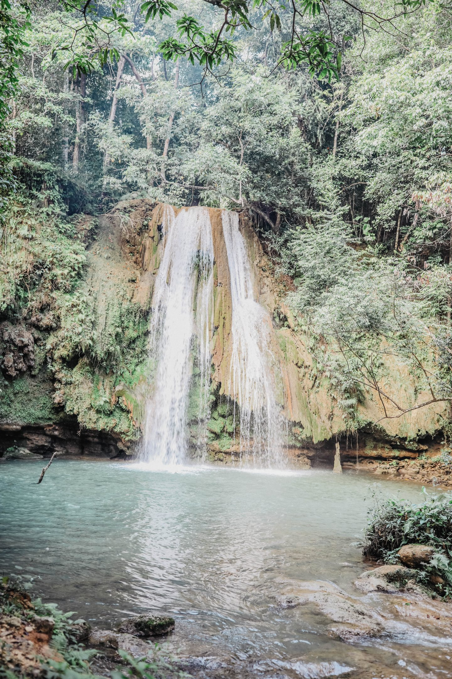 Cascade El Limon République Dominicaine marie and mood blog
