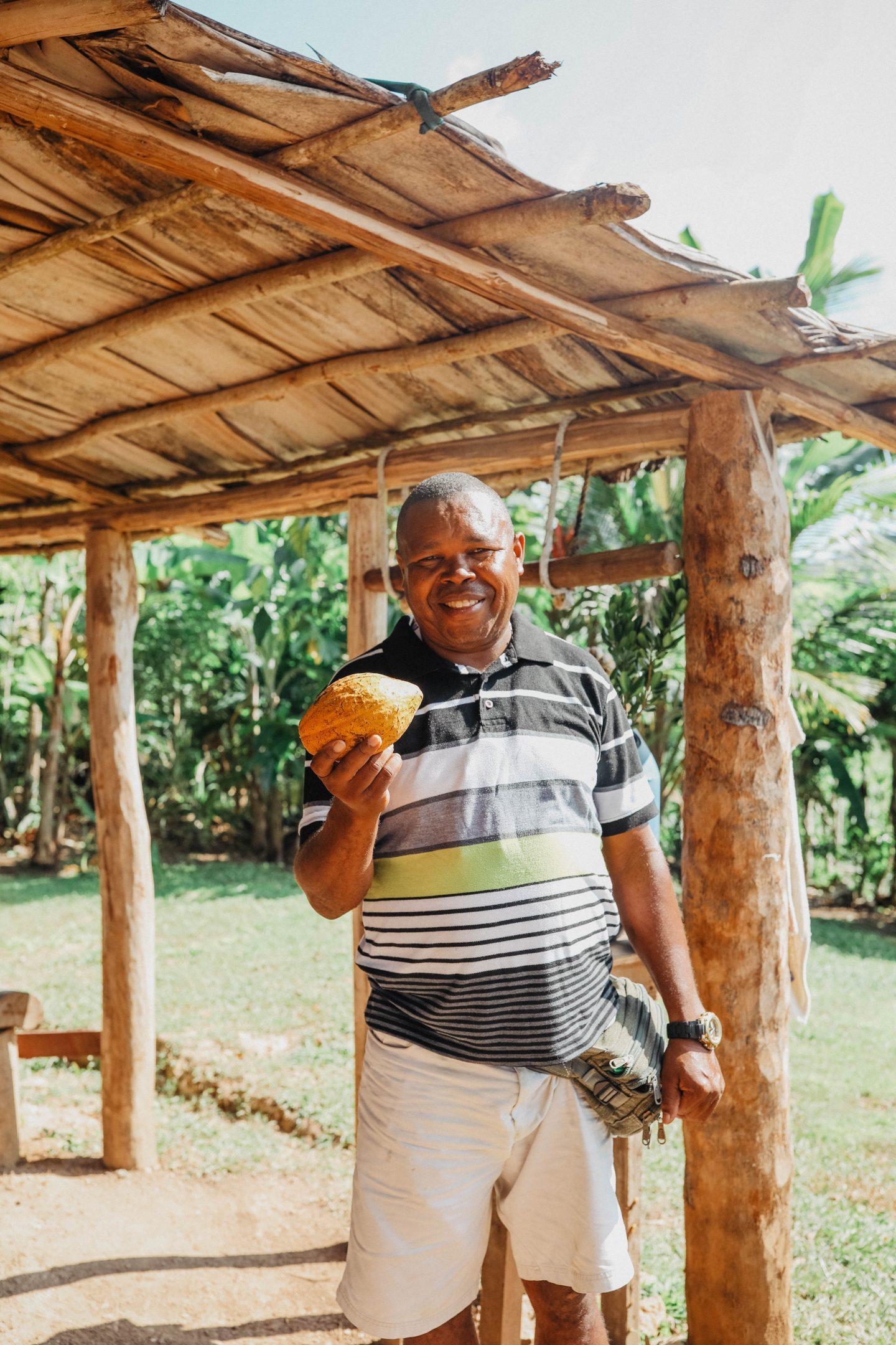 Cacao local République Dominicaine marie and mood blog
