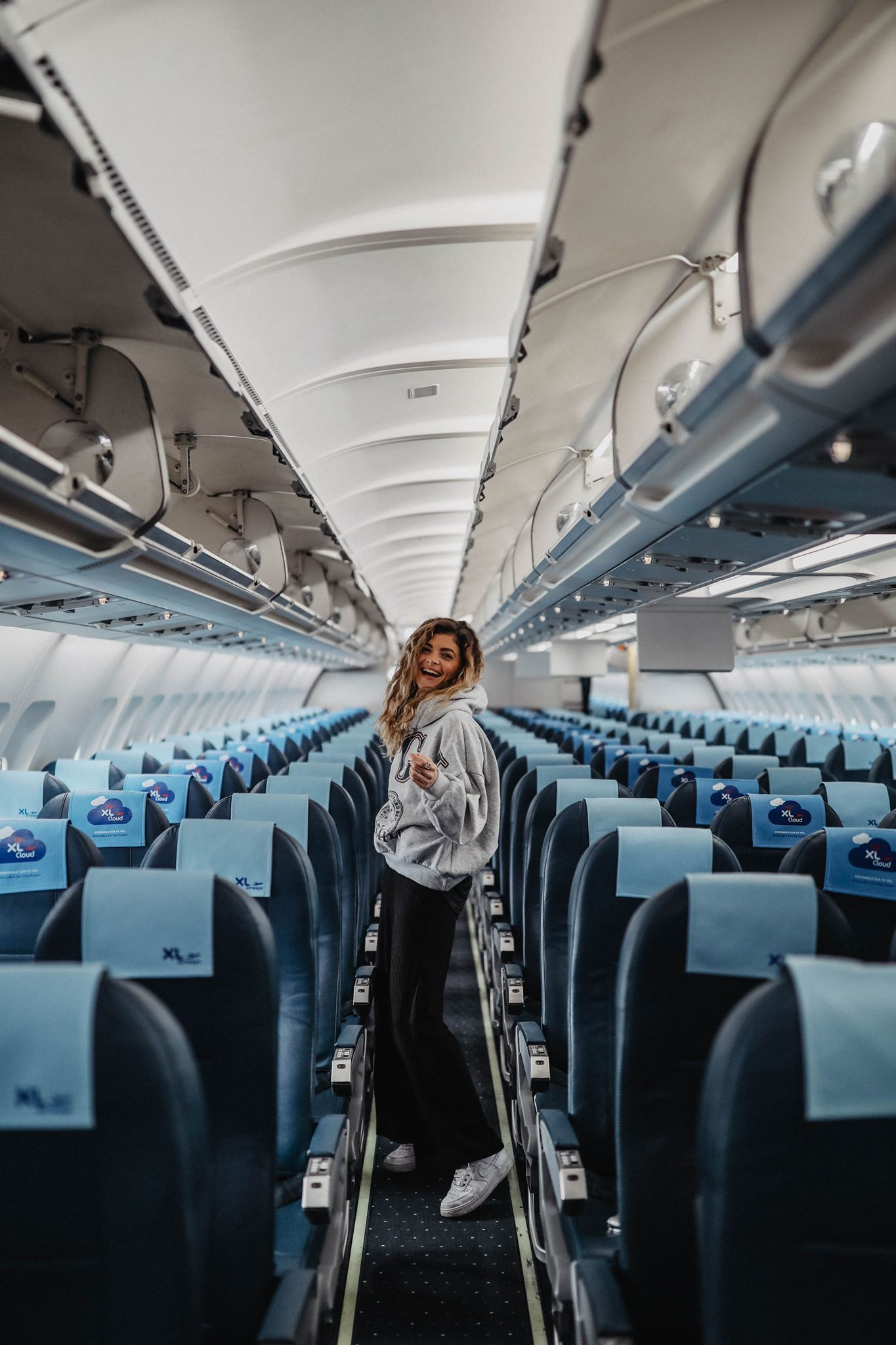 XL Airways marie and mood road trip