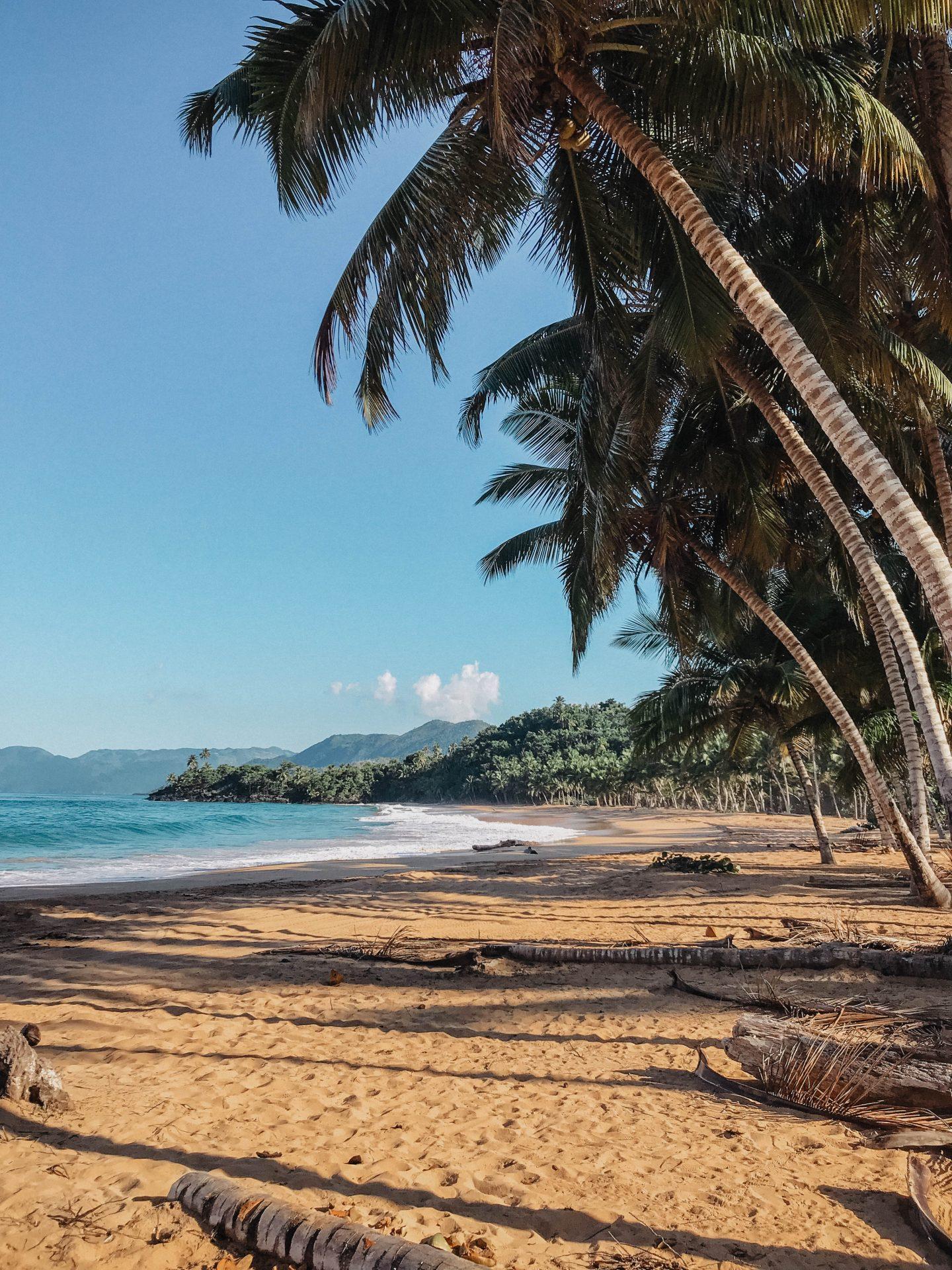 Plage sauvage république dominicaine marie and mood blog lifestyle